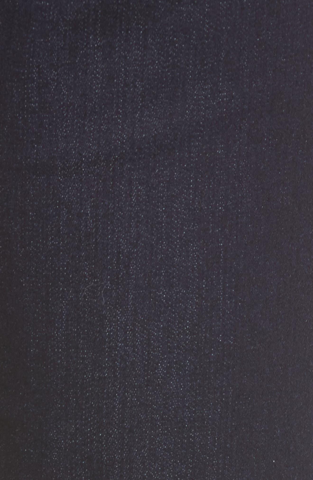 Alternate Image 5  - Jen7 Stretch Slim Straight Leg Jeans (Riche Touch Estancia Blue)