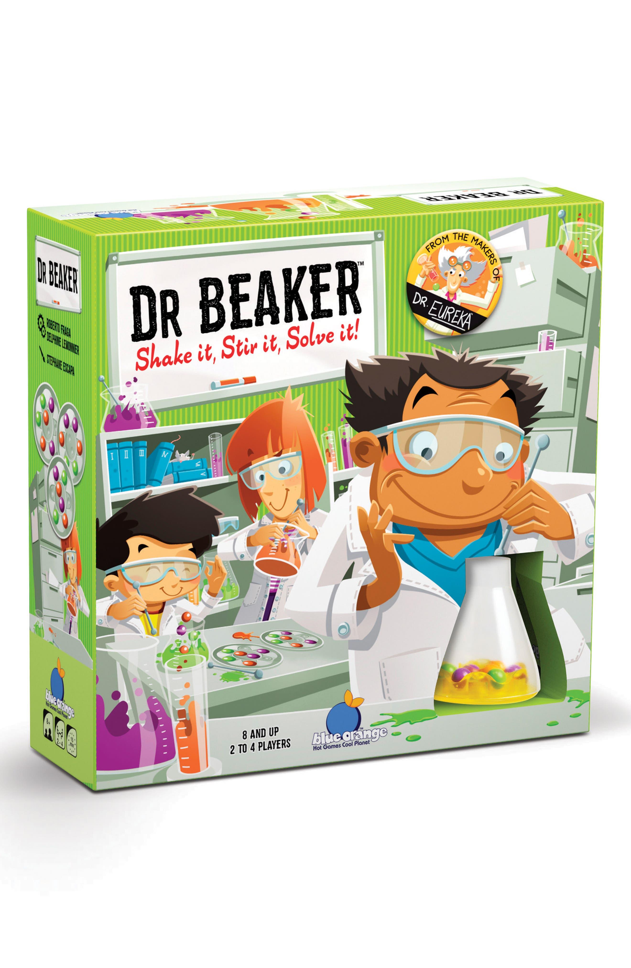 Blue Orange USA Games Dr. Beaker Board Game