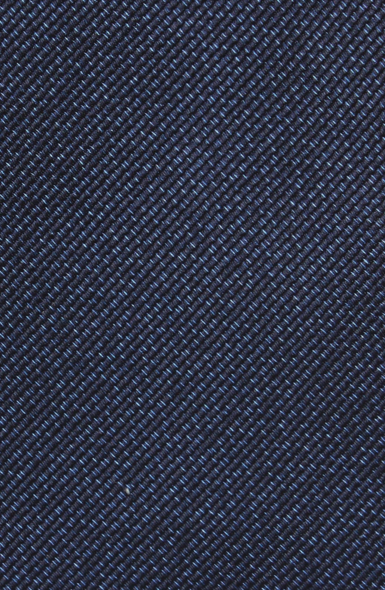 Alternate Image 2  - Nordstrom Men's Shop Mesa Solid Silk Tie