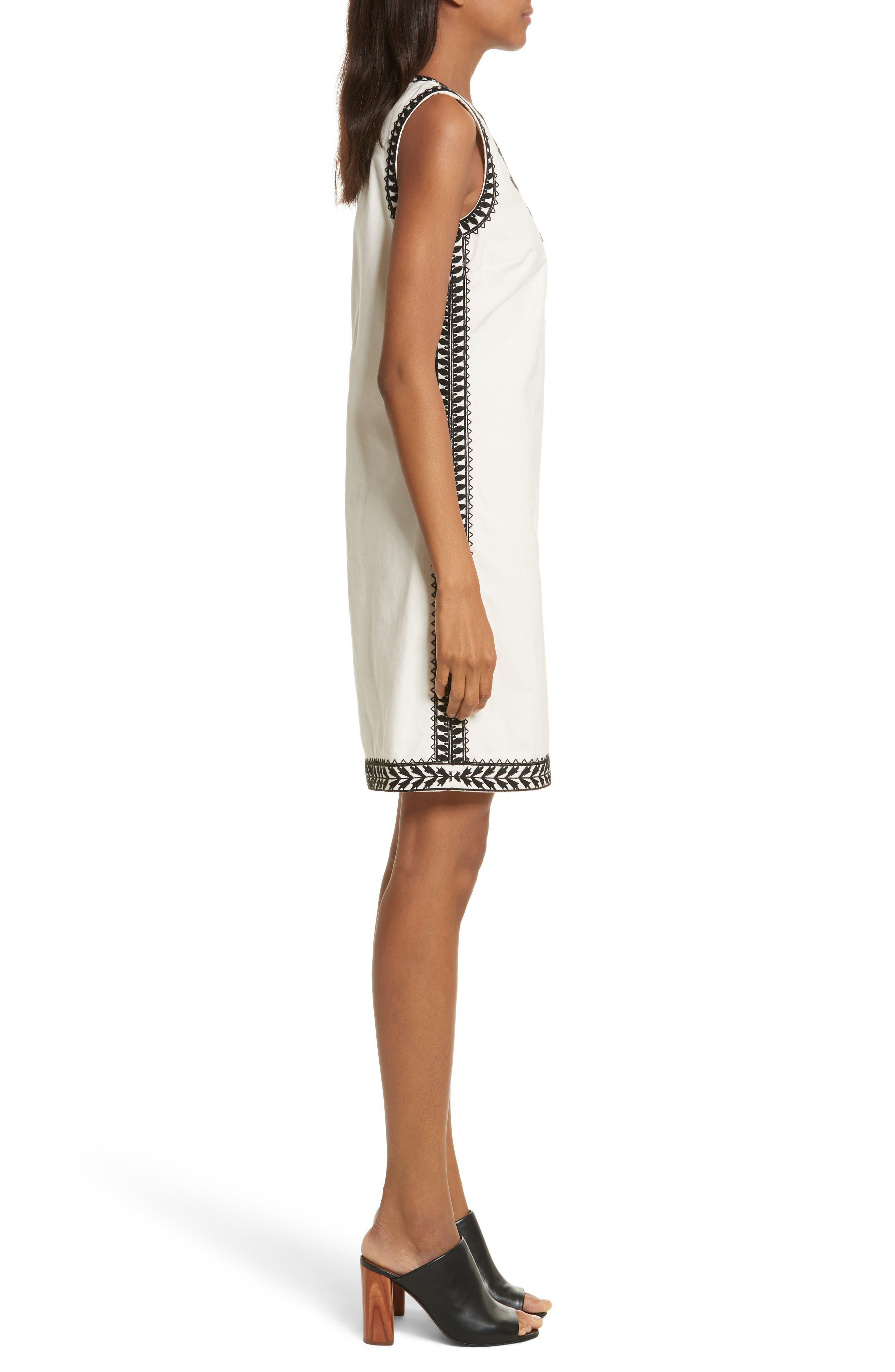 Alternate Image 3  - Tory Burch Camille Embellished Shift Dress