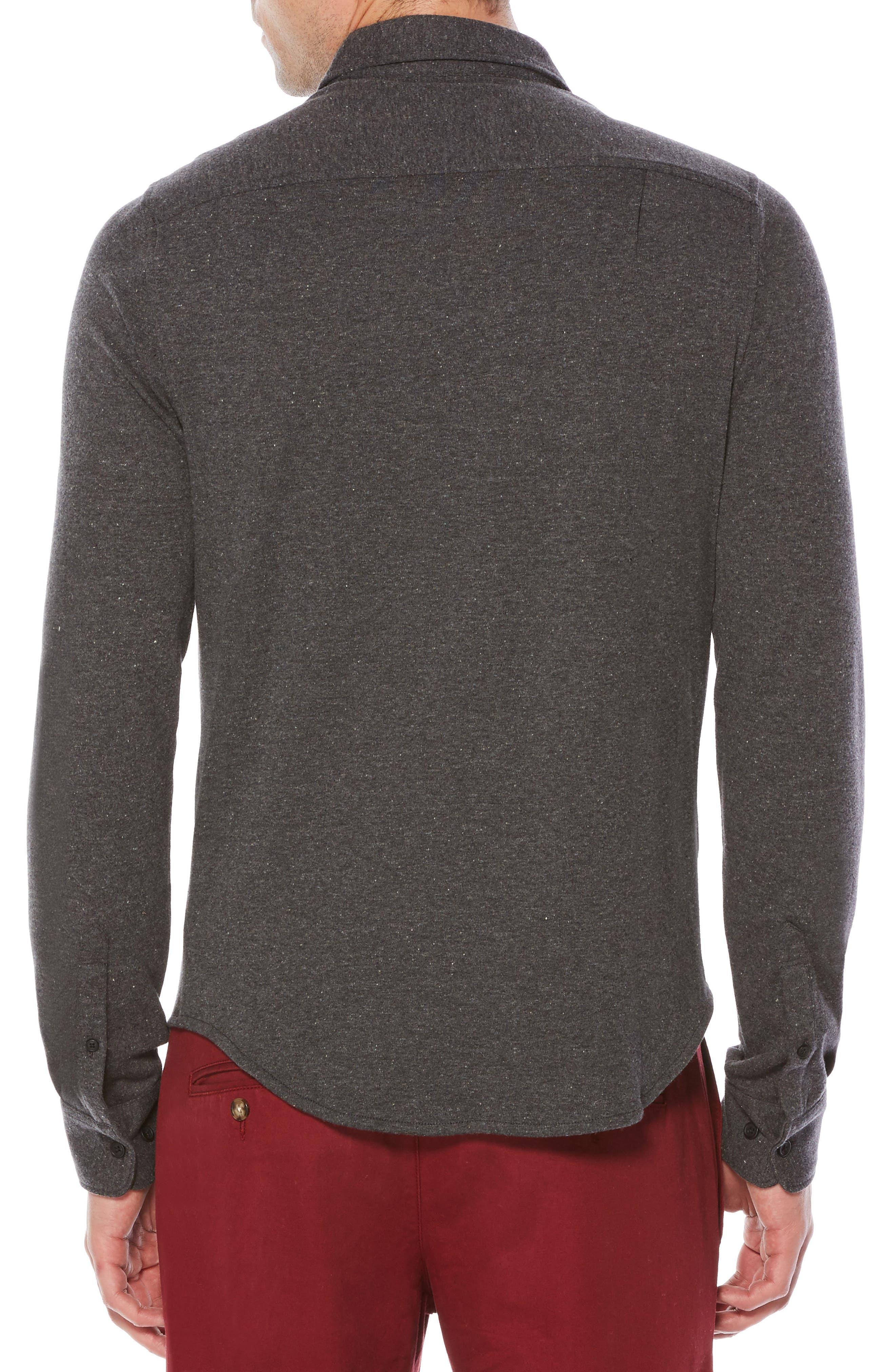 Alternate Image 2  - Original Penguin Heritage Slim Fit Shirt (Big & Tall)