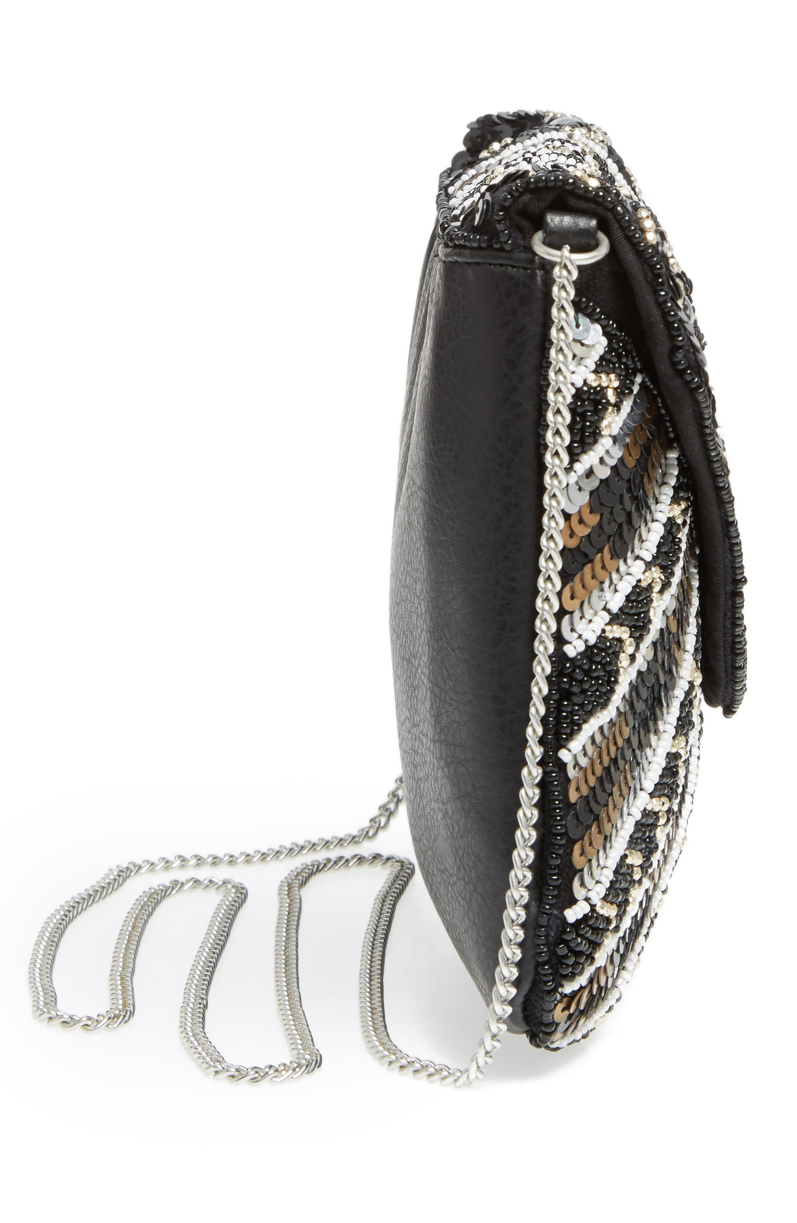 Alternate Image 4  - Sole Society Beaded Clutch