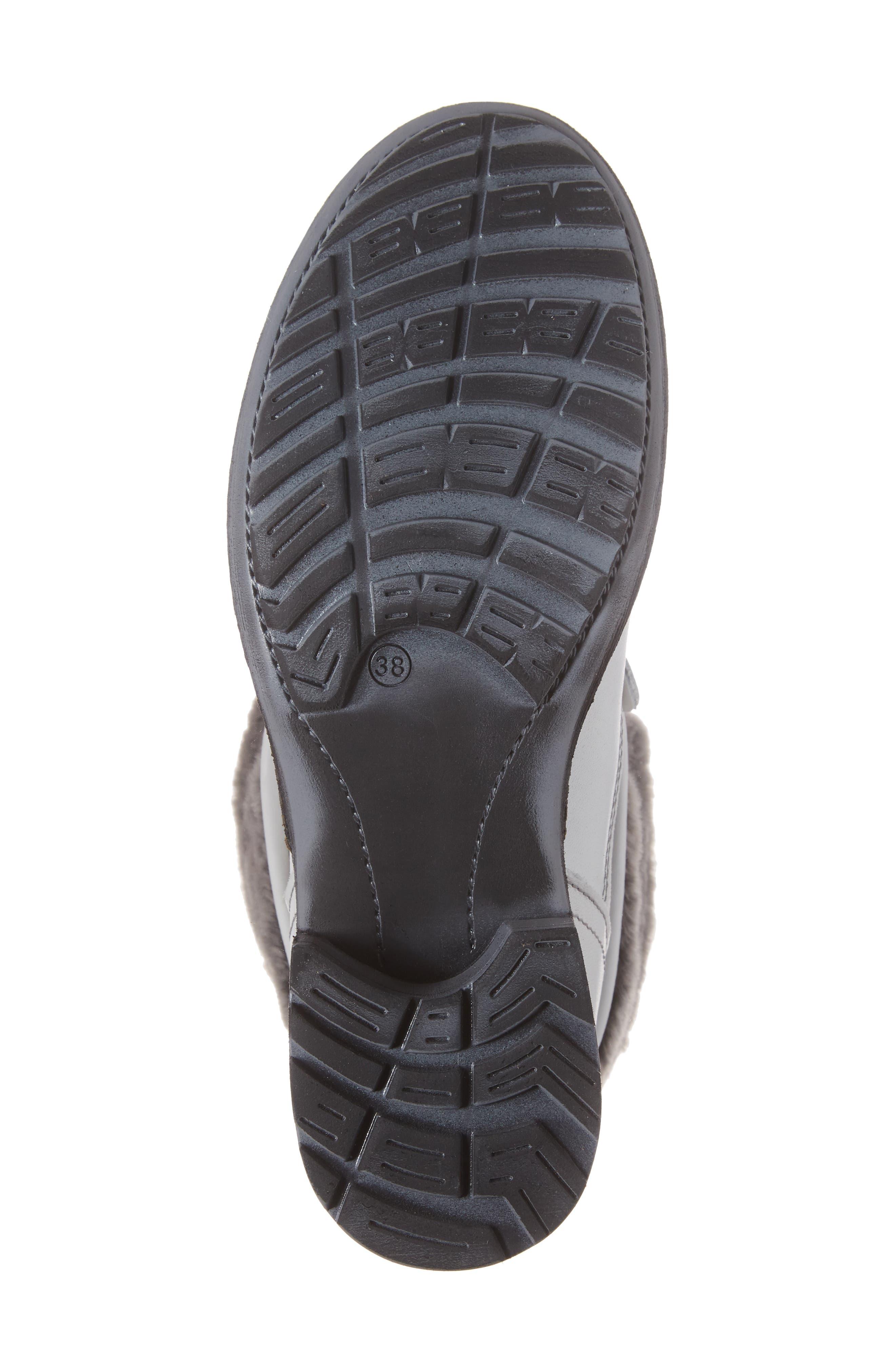 Springfield Waterproof Winter Boot,                             Alternate thumbnail 6, color,                             White/ Grey/ Black