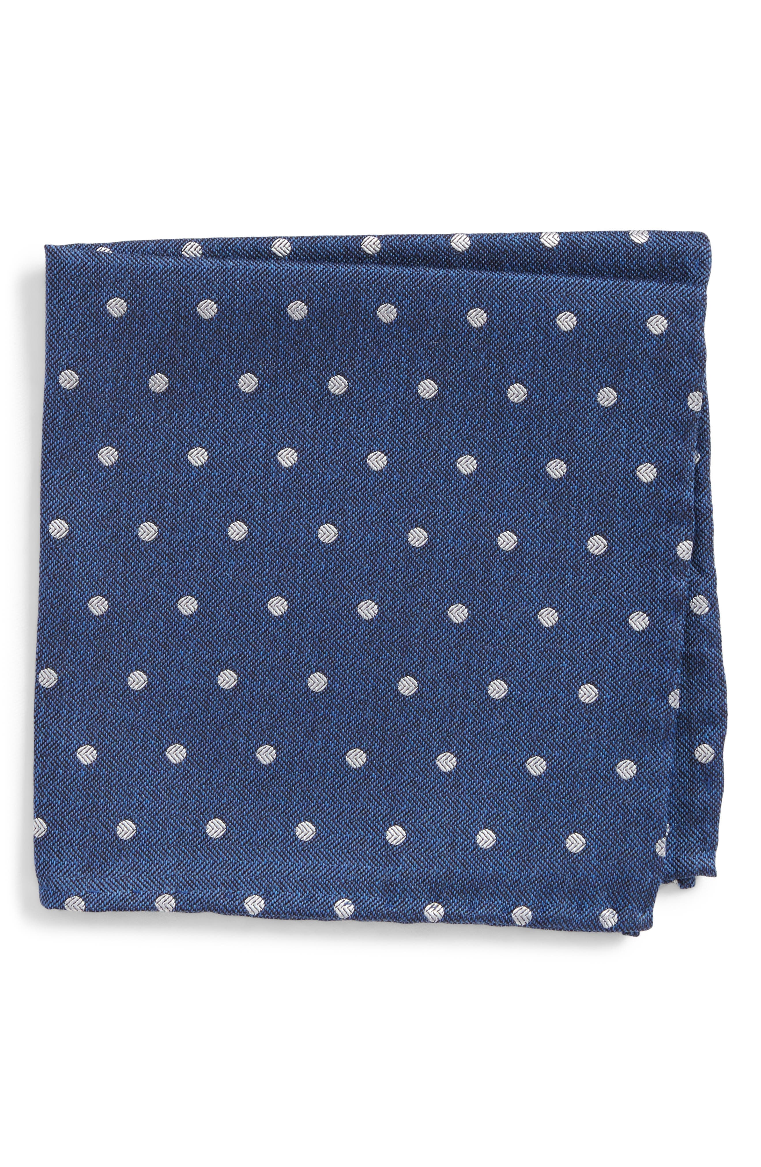 Main Image - The Tie Bar Dot Hitch Pocket Square