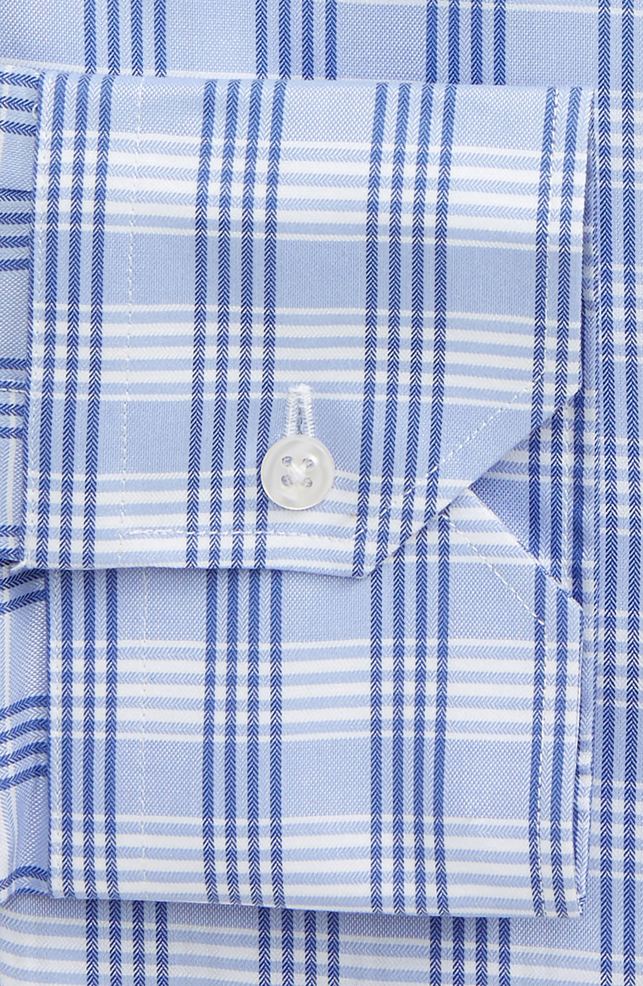 Alternate Image 2  - John W. Nordstrom® Traditional Fit No-Iron Check Dress Shirt