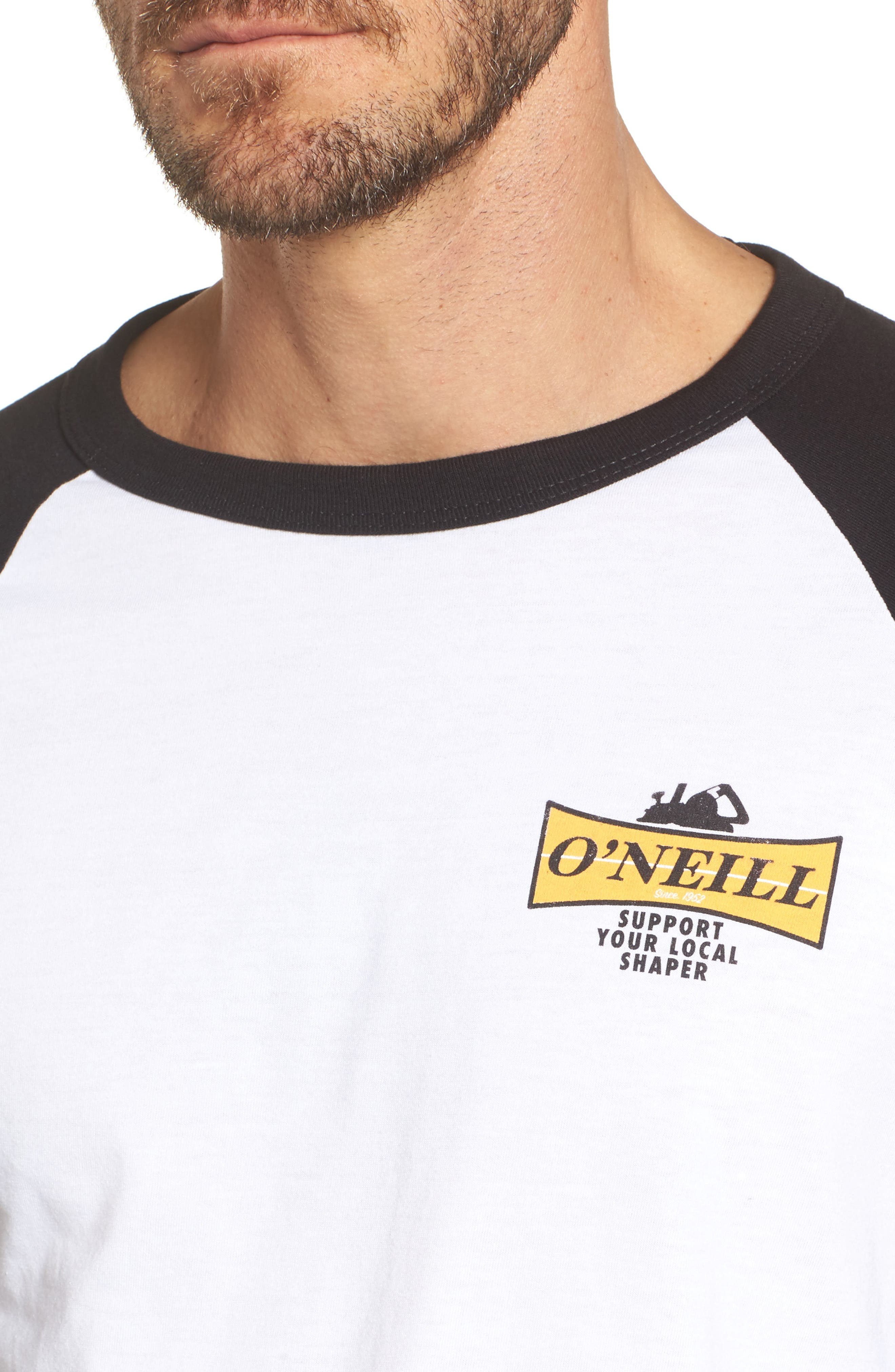 Alternate Image 4  - O'Neill Planer Raglan T-Shirt