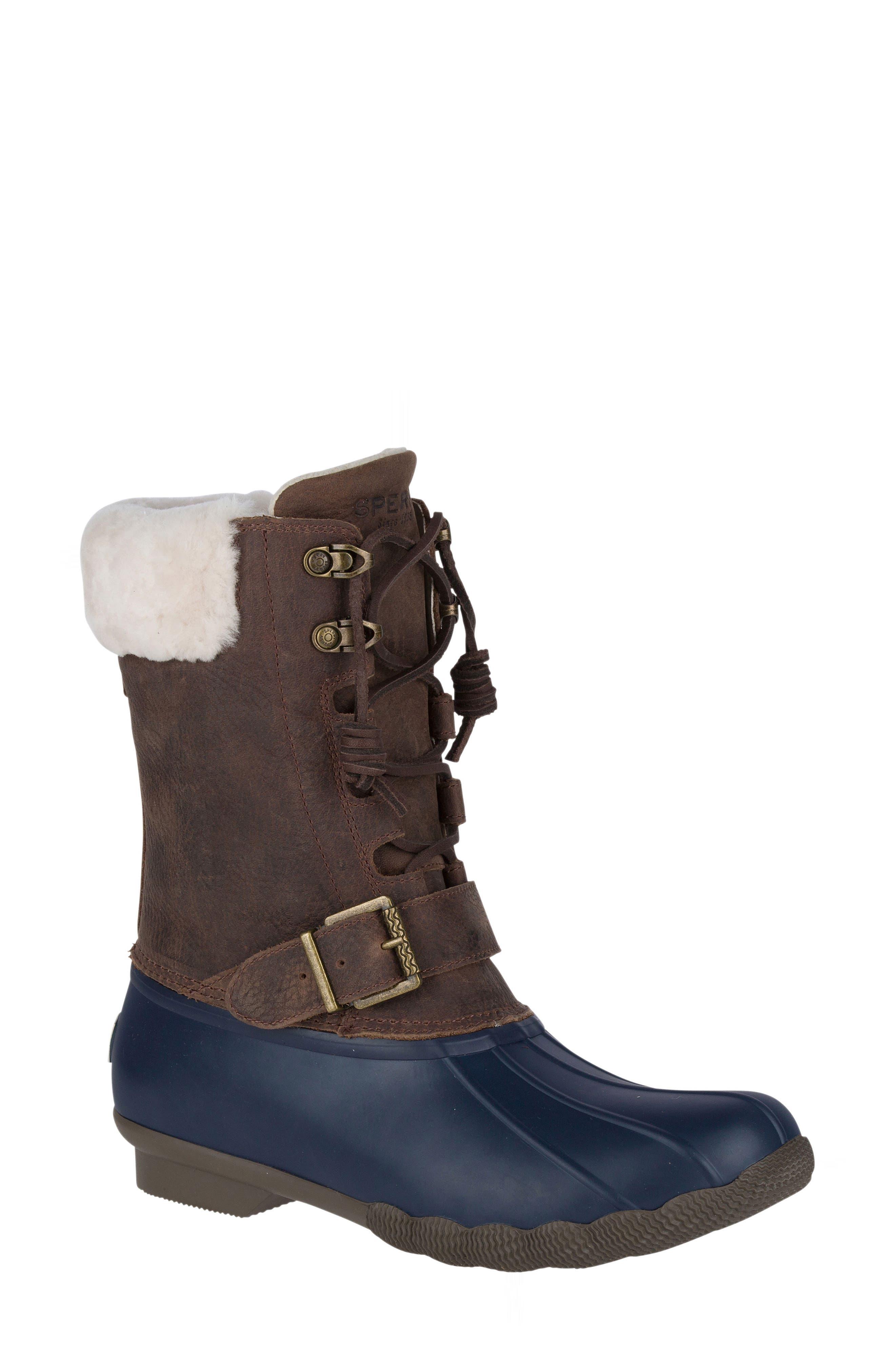 Alternate Image 1 Selected - Sperry Saltwater Misty Waterproof Rain Boot (Women)