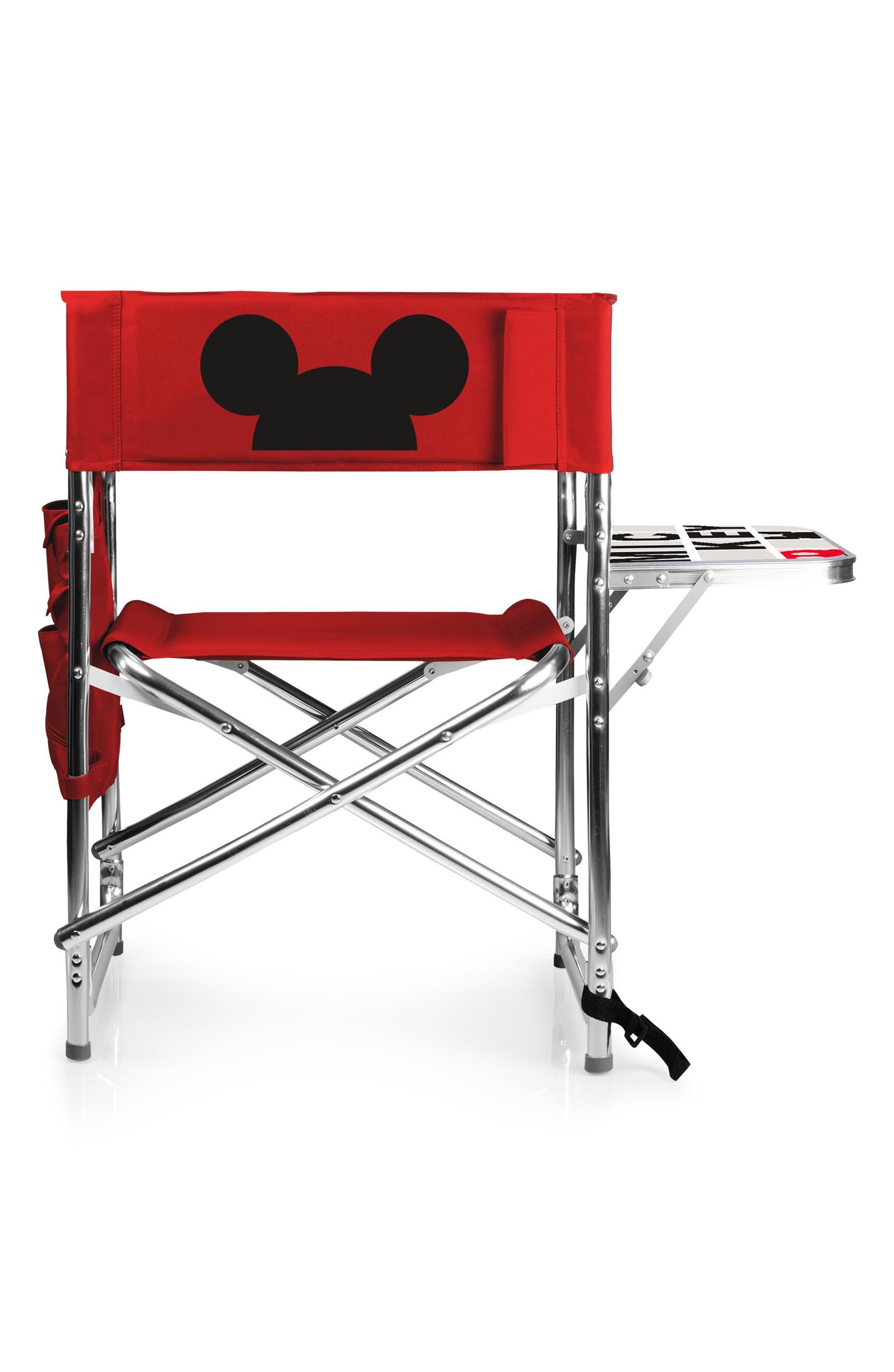 Disney Folding Lawn Chair,                             Alternate thumbnail 3, color,                             Mickey