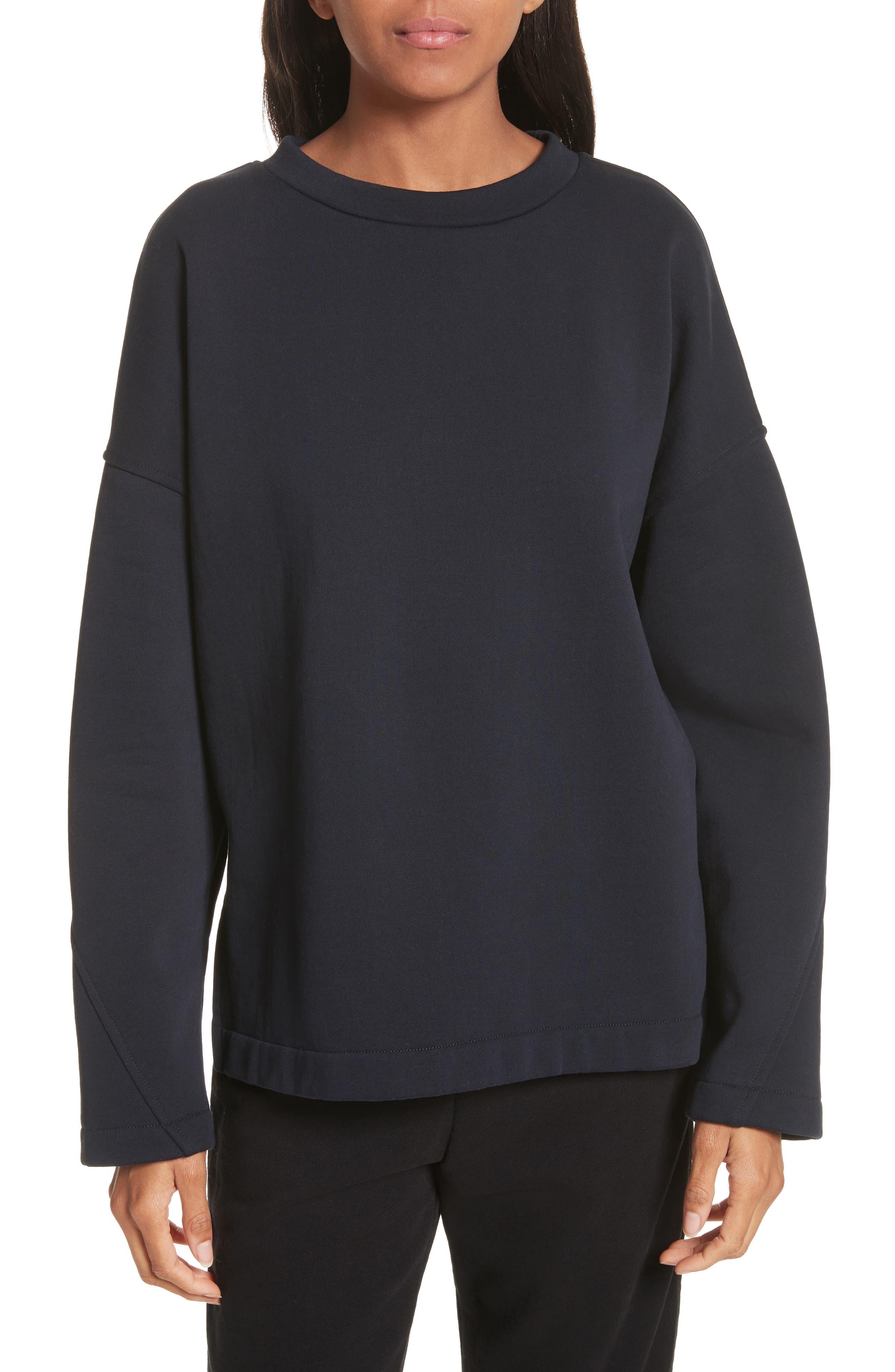 Alternate Image 1 Selected - Vince Mock Neck Sweatshirt