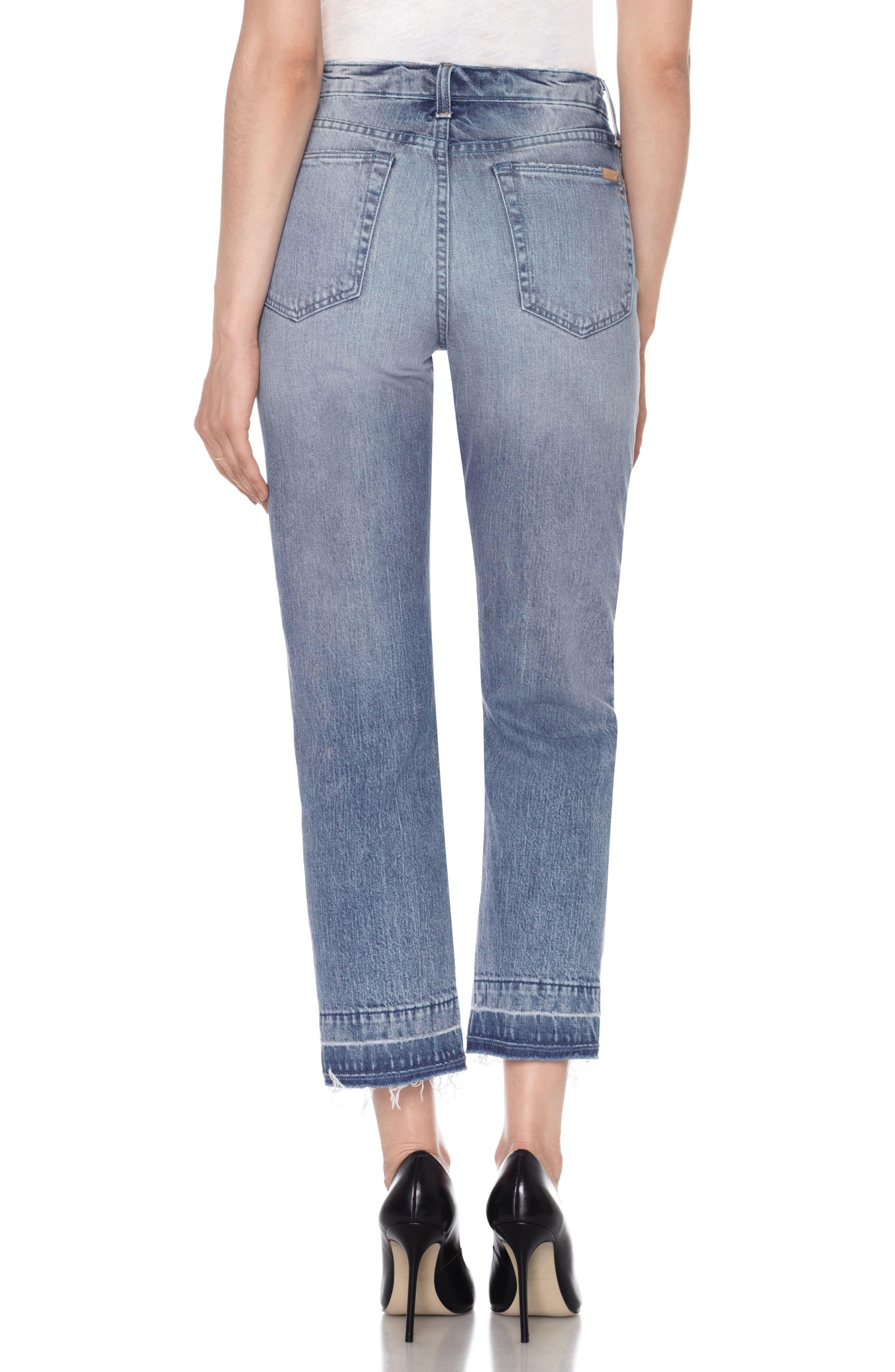 Alternate Image 2  - Joe's Jane Crop Slim Boyfriend Jeans (Prairie)