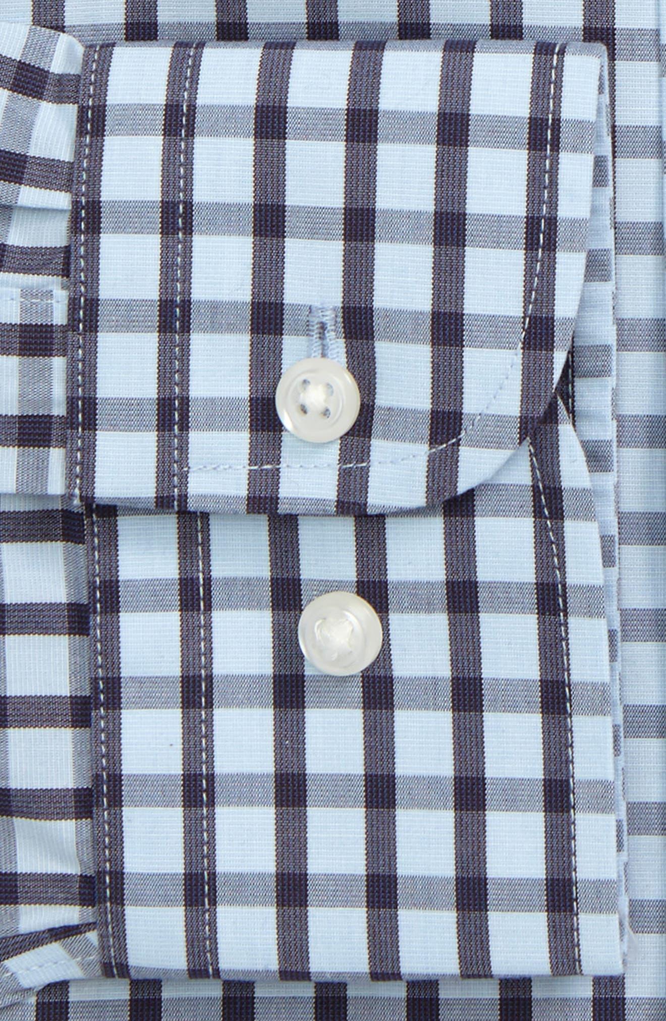 Smartcare<sup>™</sup> Trim Fit Dress Shirt,                             Alternate thumbnail 2, color,                             Brown Fawn