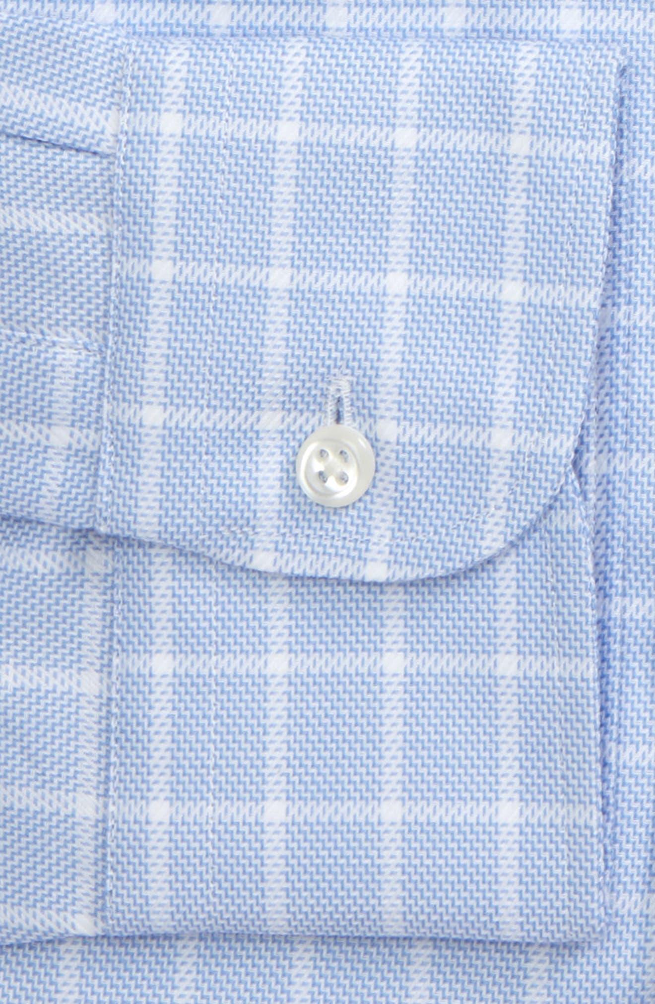 Alternate Image 4  - Nordstrom Men's Shop Traditional Fit No-Iron Check Dress Shirt