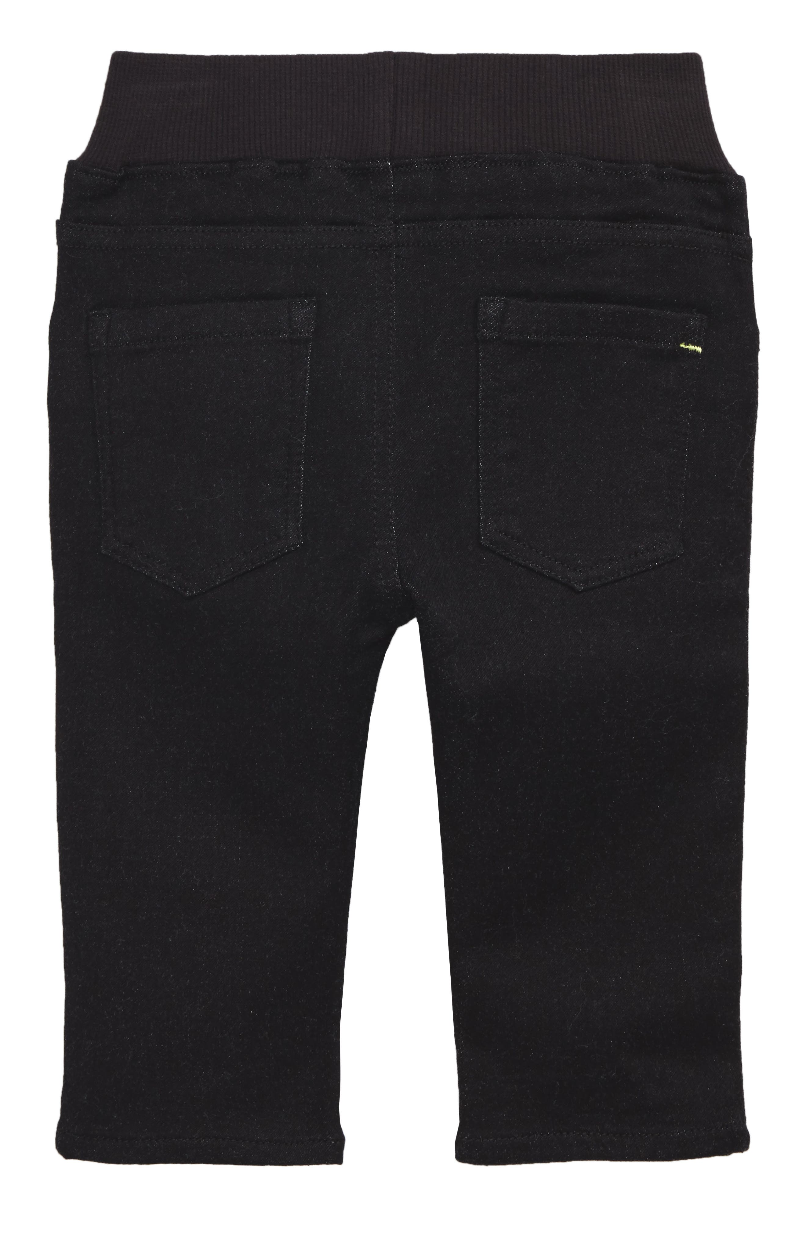 Soft Jeans,                             Alternate thumbnail 2, color,                             Black