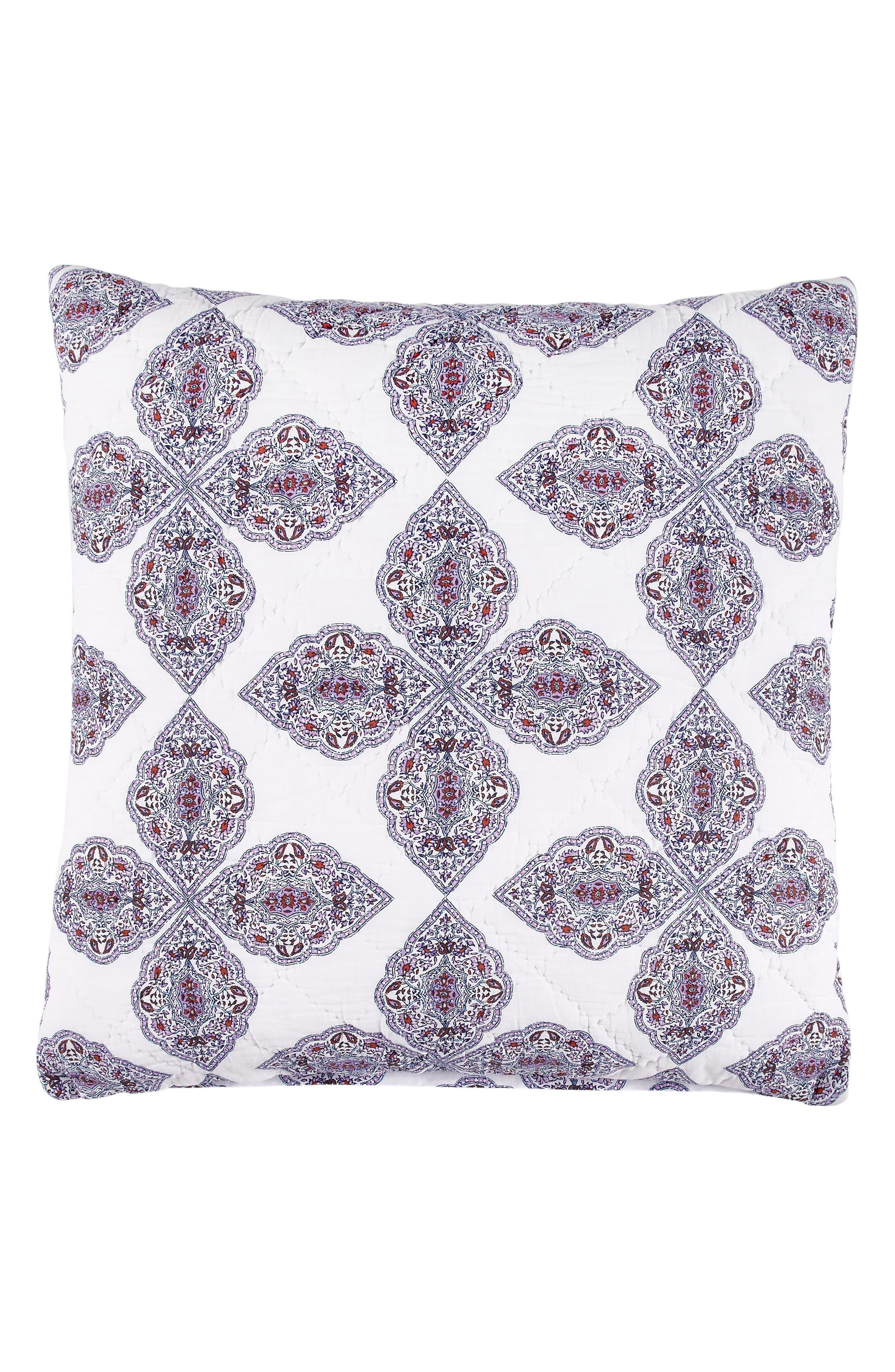 Tarati Euro Sham,                         Main,                         color, Lavender/ Purple/ White