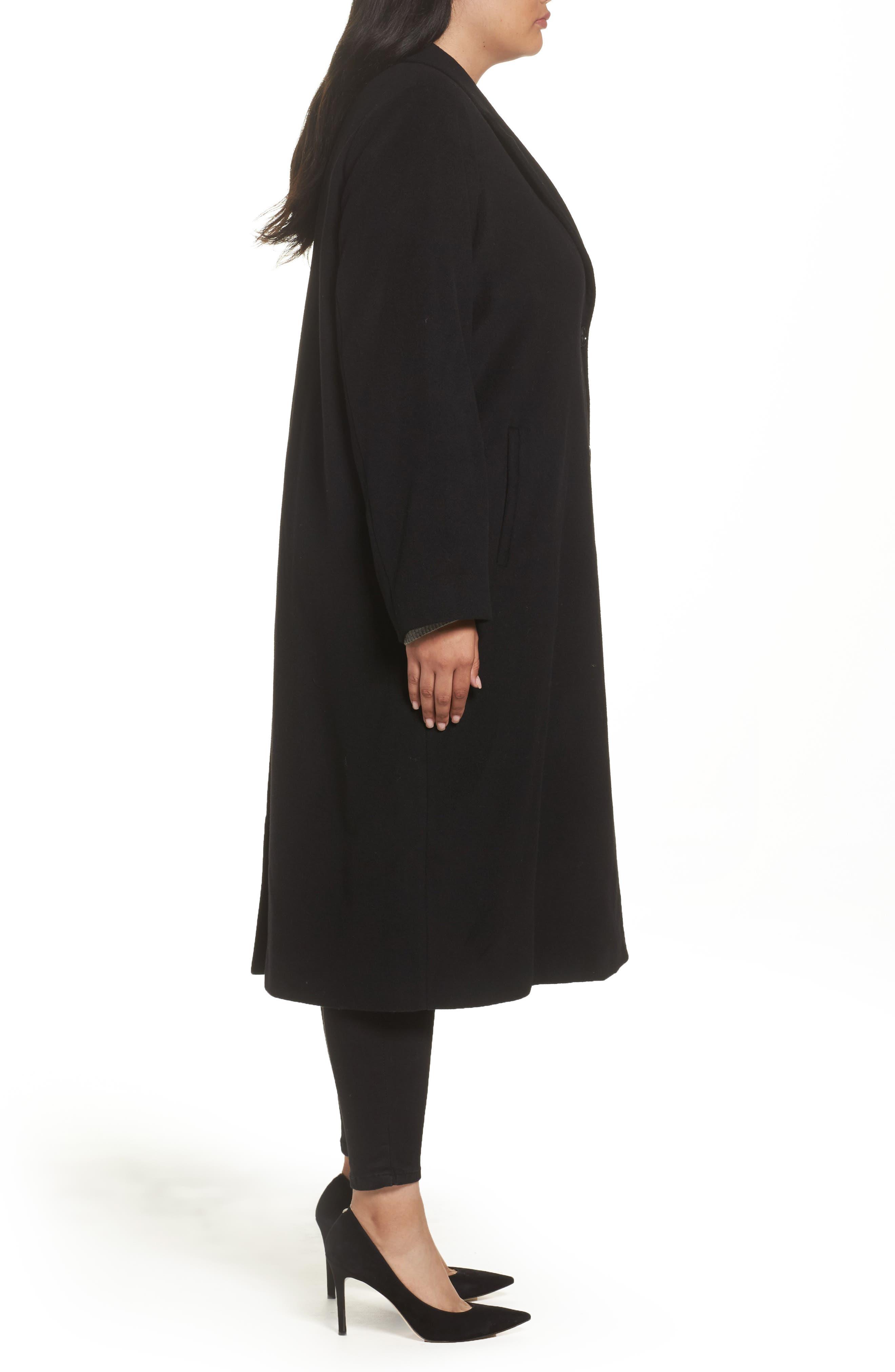 Alternate Image 3  - Persona by Marina Rinaldi Tamigi Coat (Plus Size)