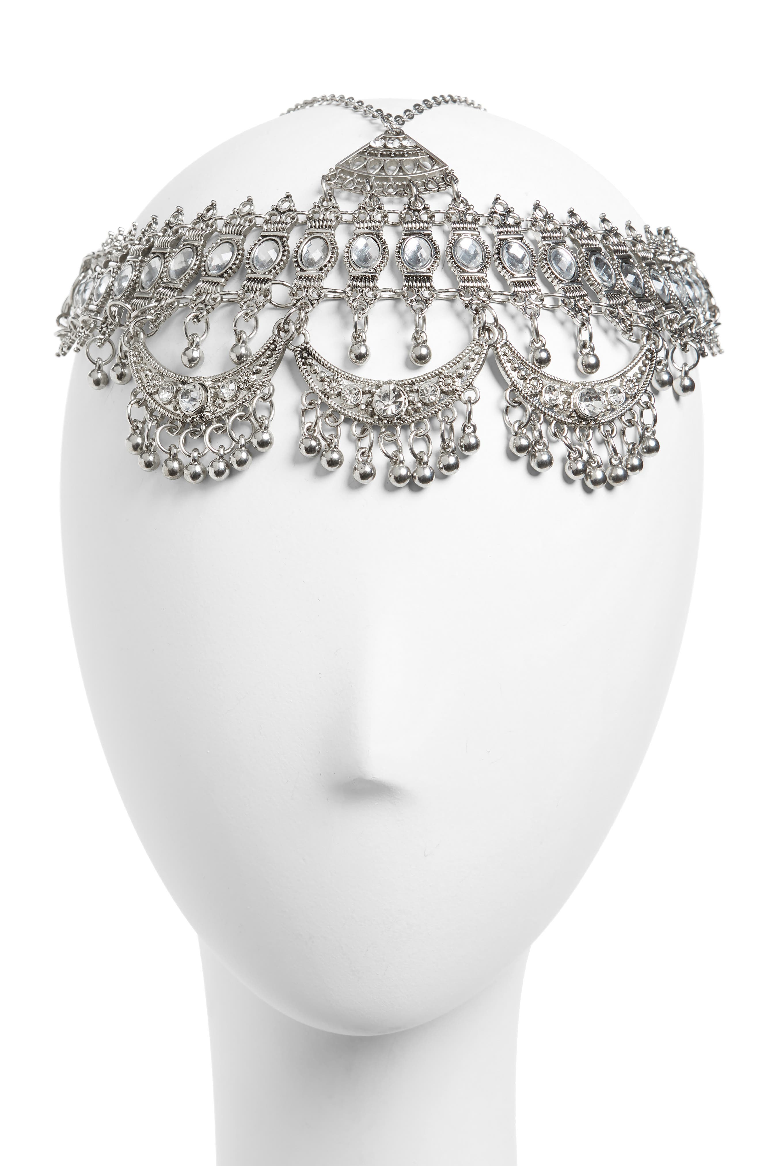 Alternate Image 1 Selected - Topshop Coin Head Chain