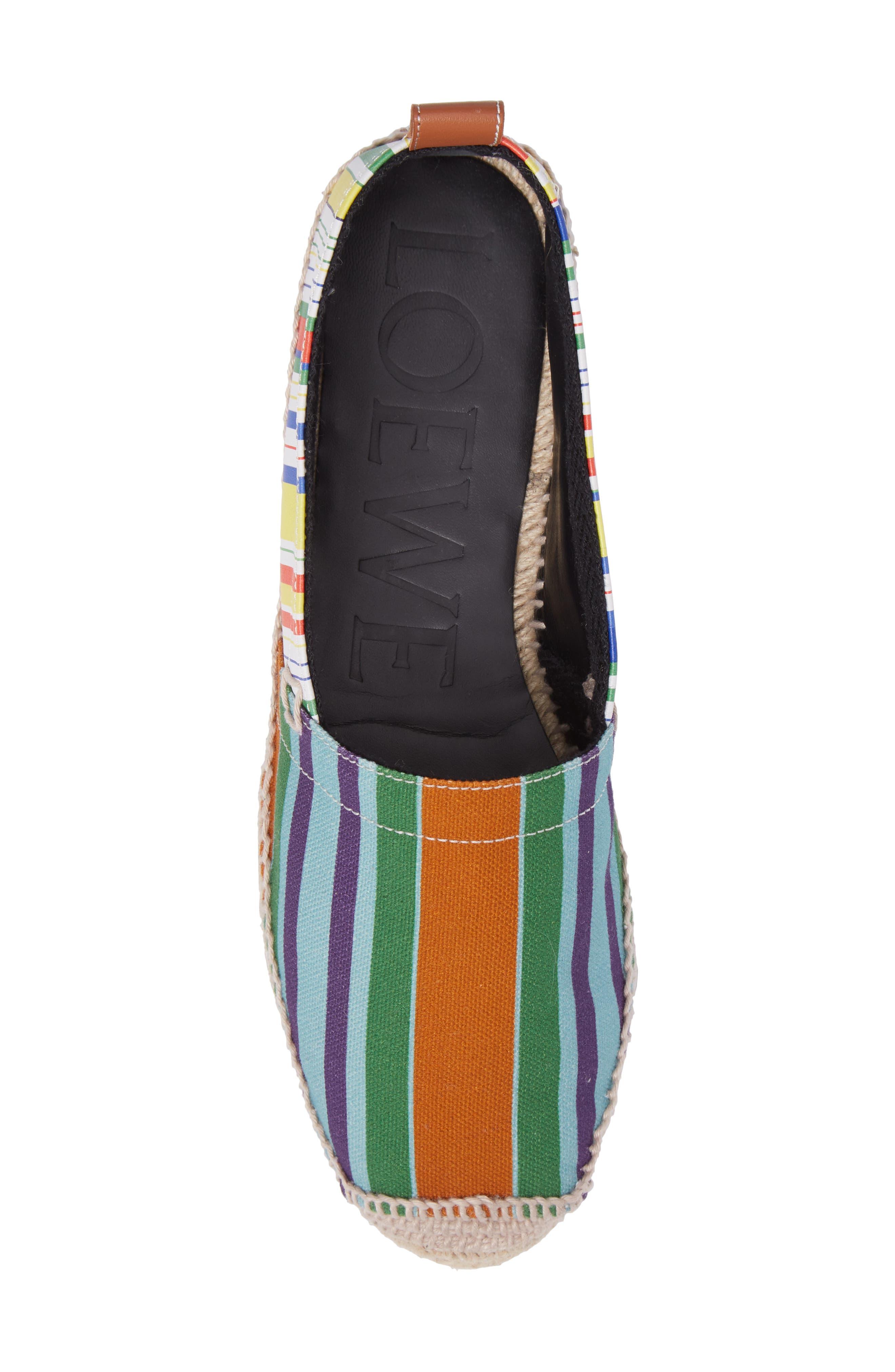Alternate Image 5  - Loewe Stripe Espadrille (Women)