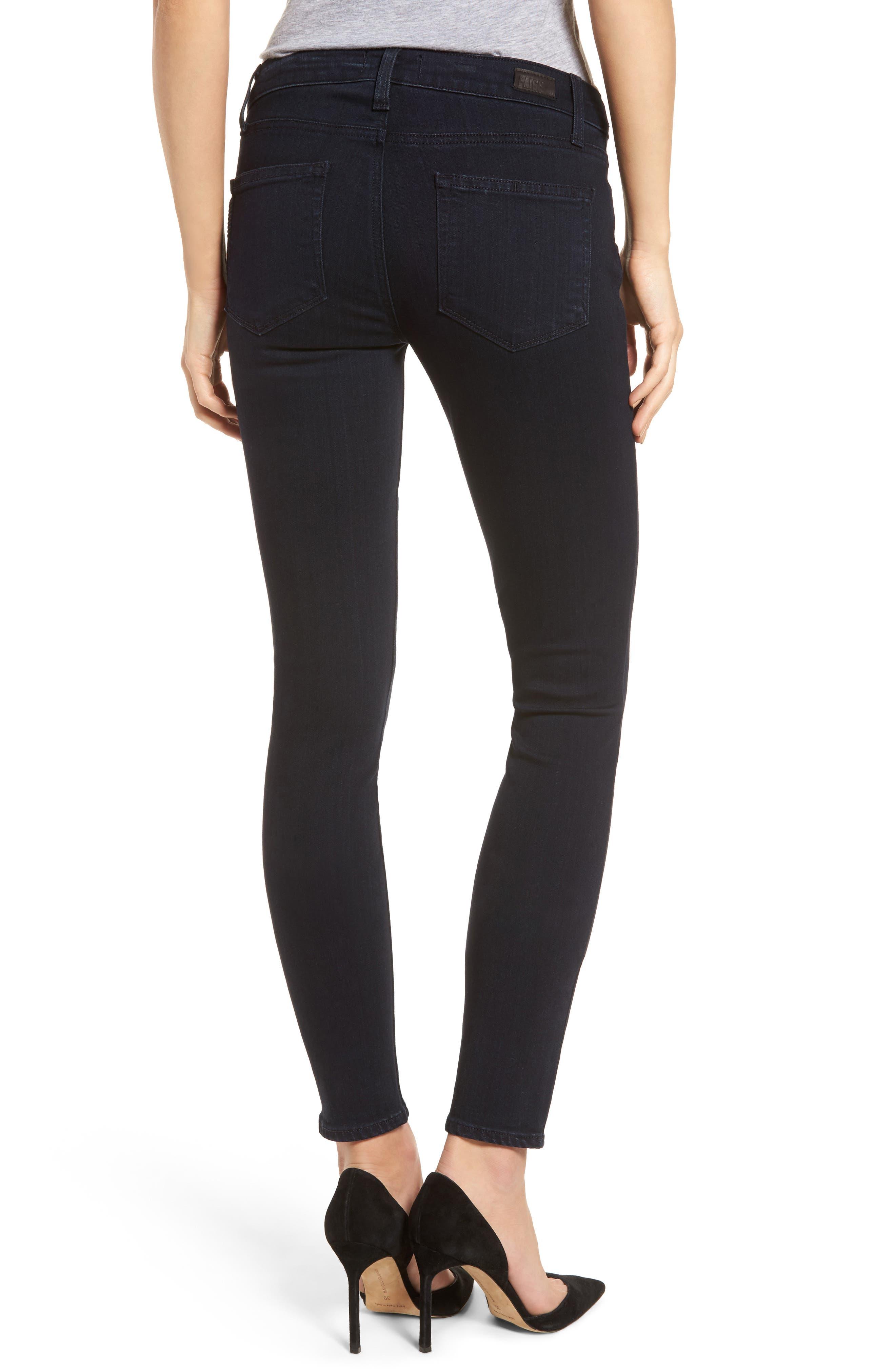 Alternate Image 2  - PAIGE Transcend - Edgemont Ultra Skinny Jeans (Cherie)