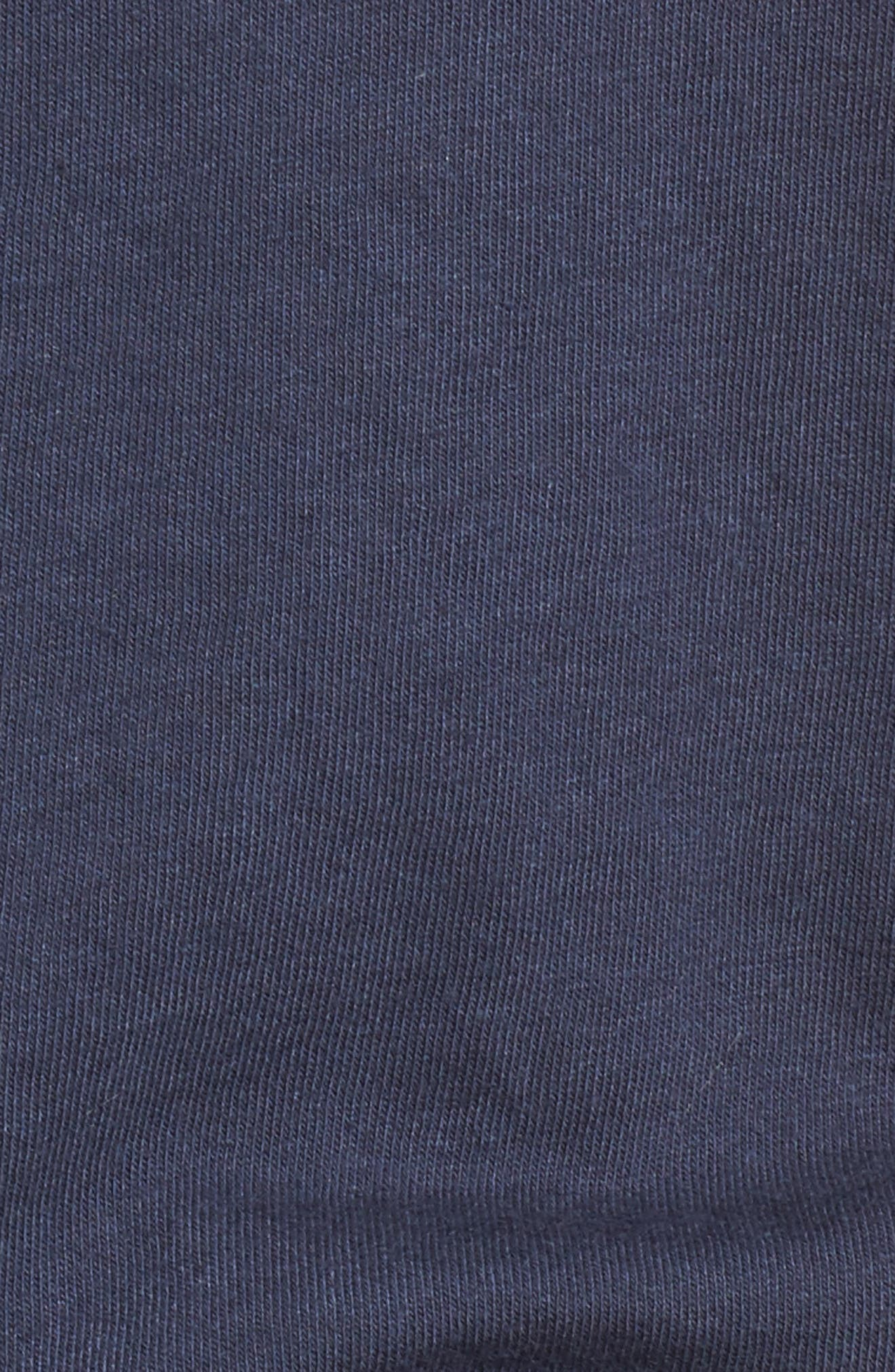 Pardon My French Fries Graphic Tee,                             Alternate thumbnail 5, color,                             Navy