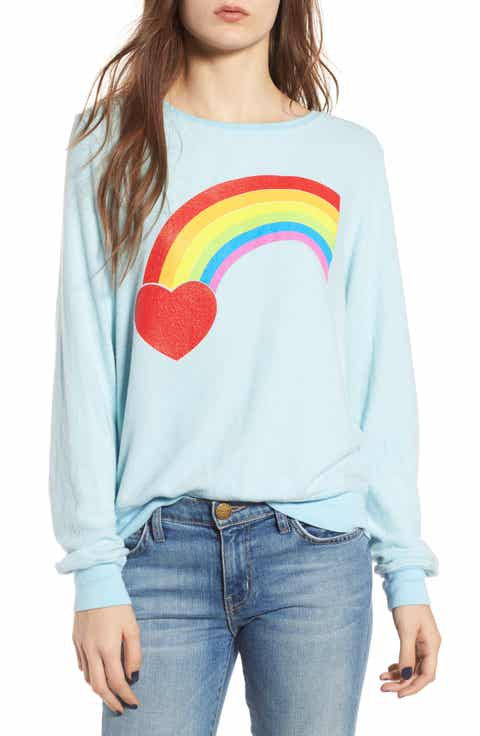 Dream Scene Rainbow Bright Sweatshirt