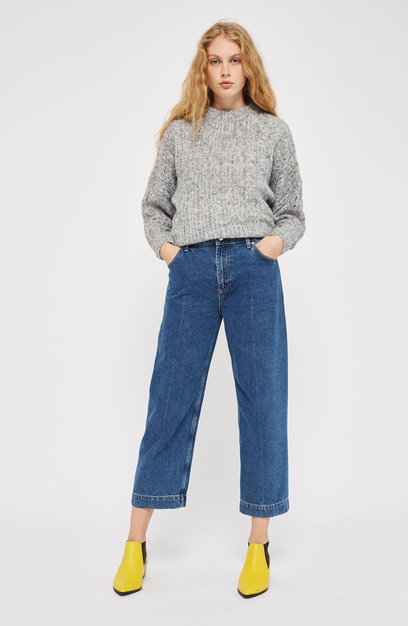 Alternate Image 2  - Topshop Soft Nep Sweater