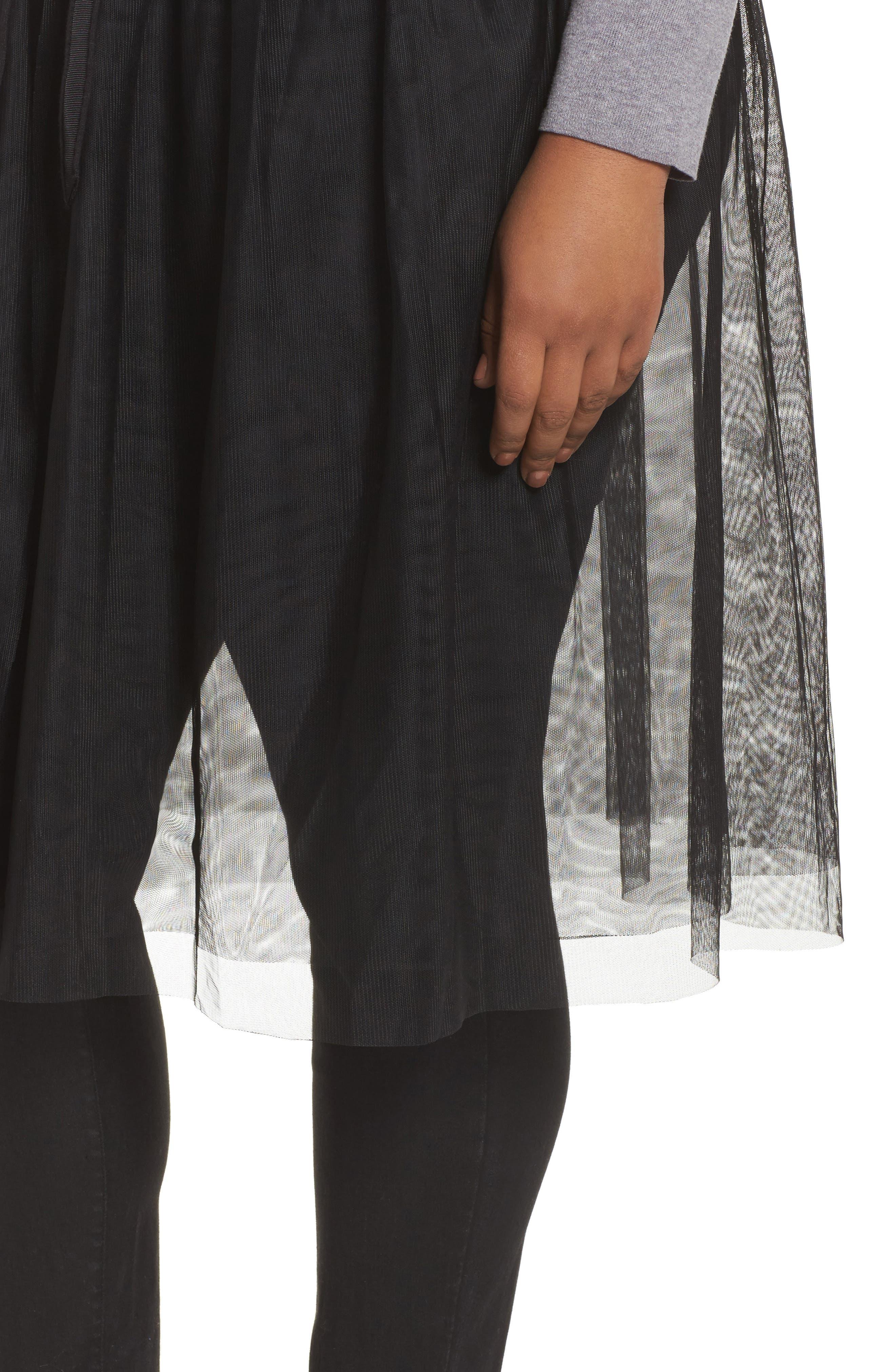 Alternate Image 4  - NIC+ZOE Tulle Time Cardigan (Plus Size)