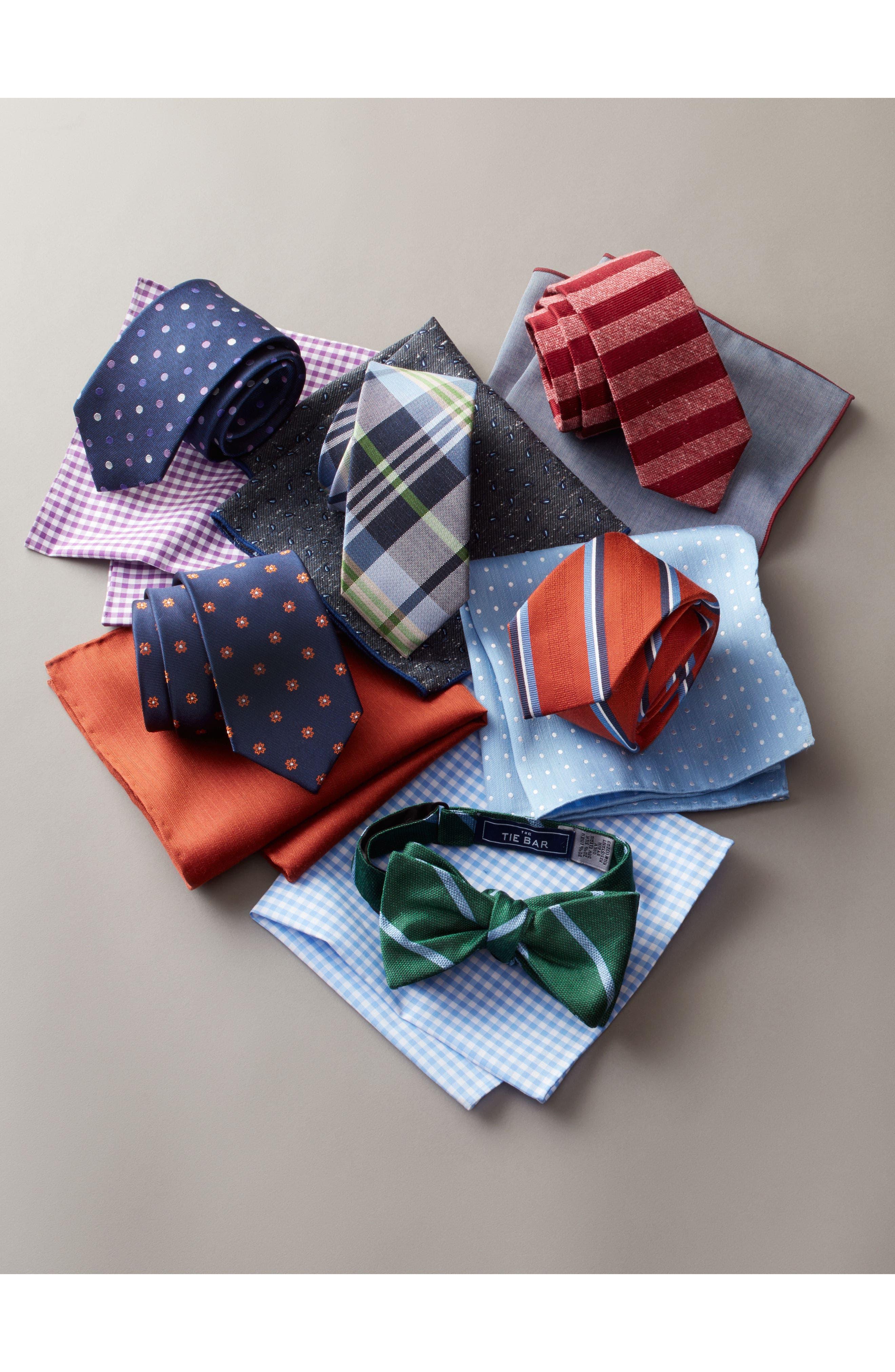 Alternate Image 3  - The Tie Bar Meter Stripe Tie & Pocket Square Box Set