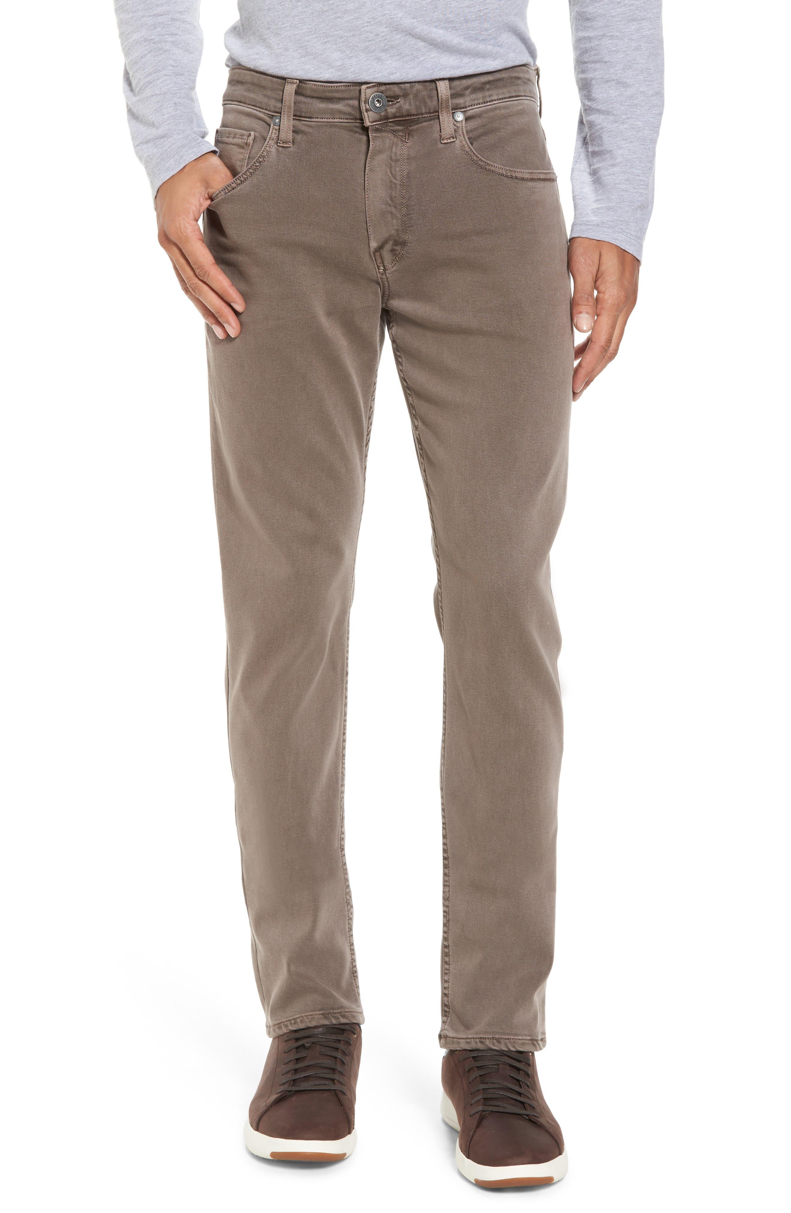 Transcend - Federal Slim Straight Fit Jeans,                         Main,                         color, Vintage Sandbar