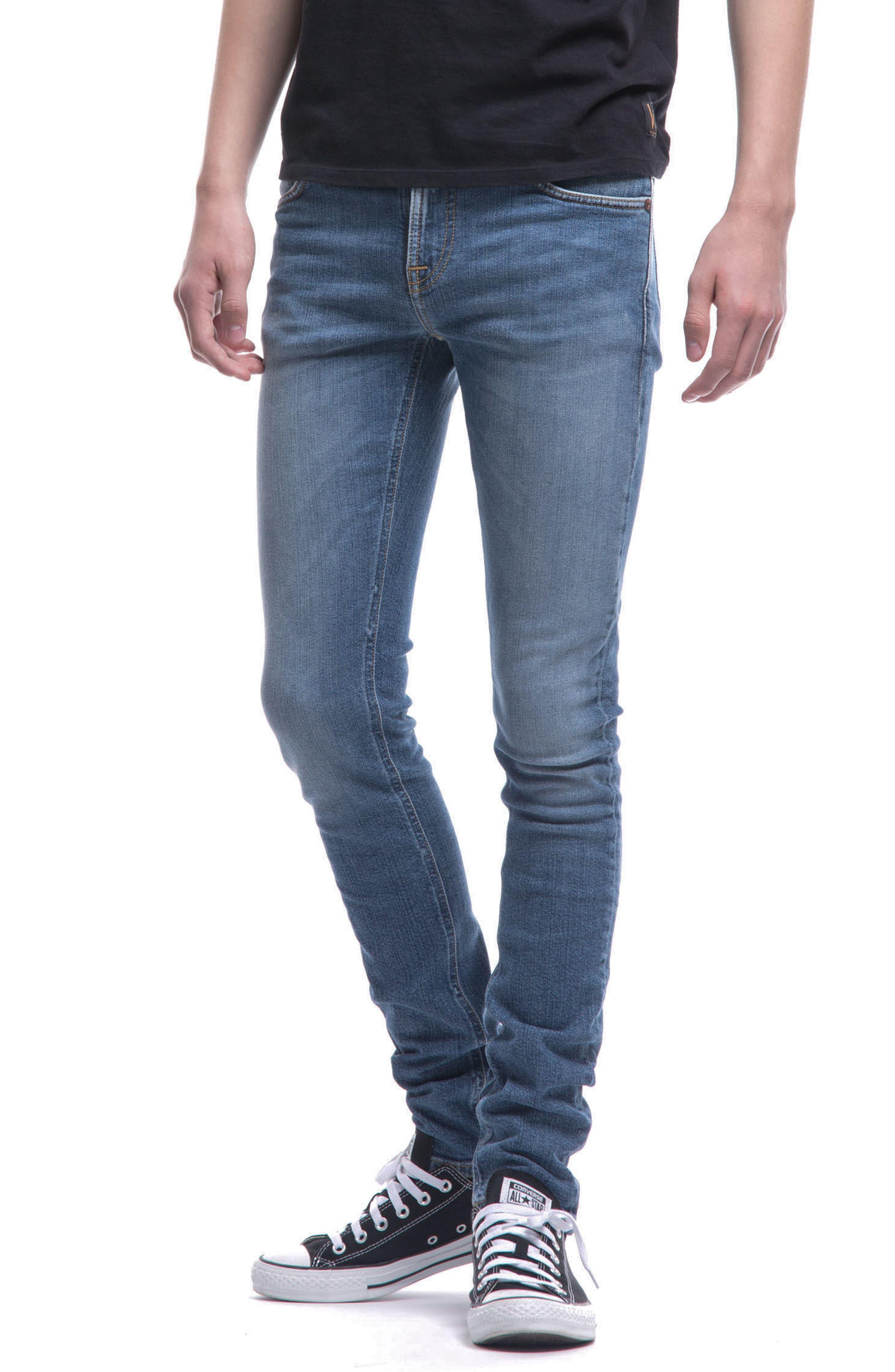 Alternate Image 3  - Nudie Jeans Skinny Lin Skinny Fit Jeans (Celestial)