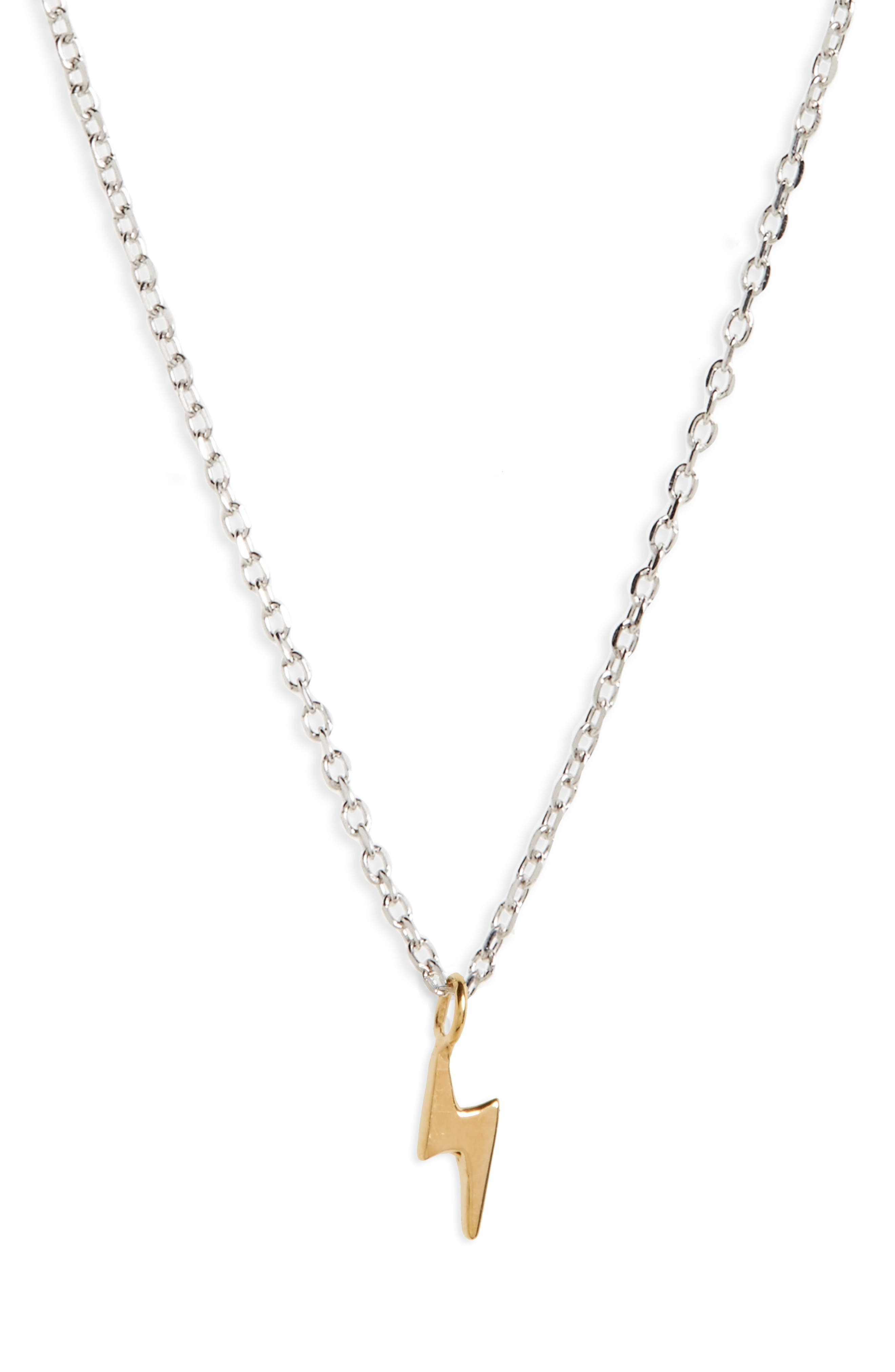 Alternate Image 1 Selected - Madewell Vermeil Pendant Necklace