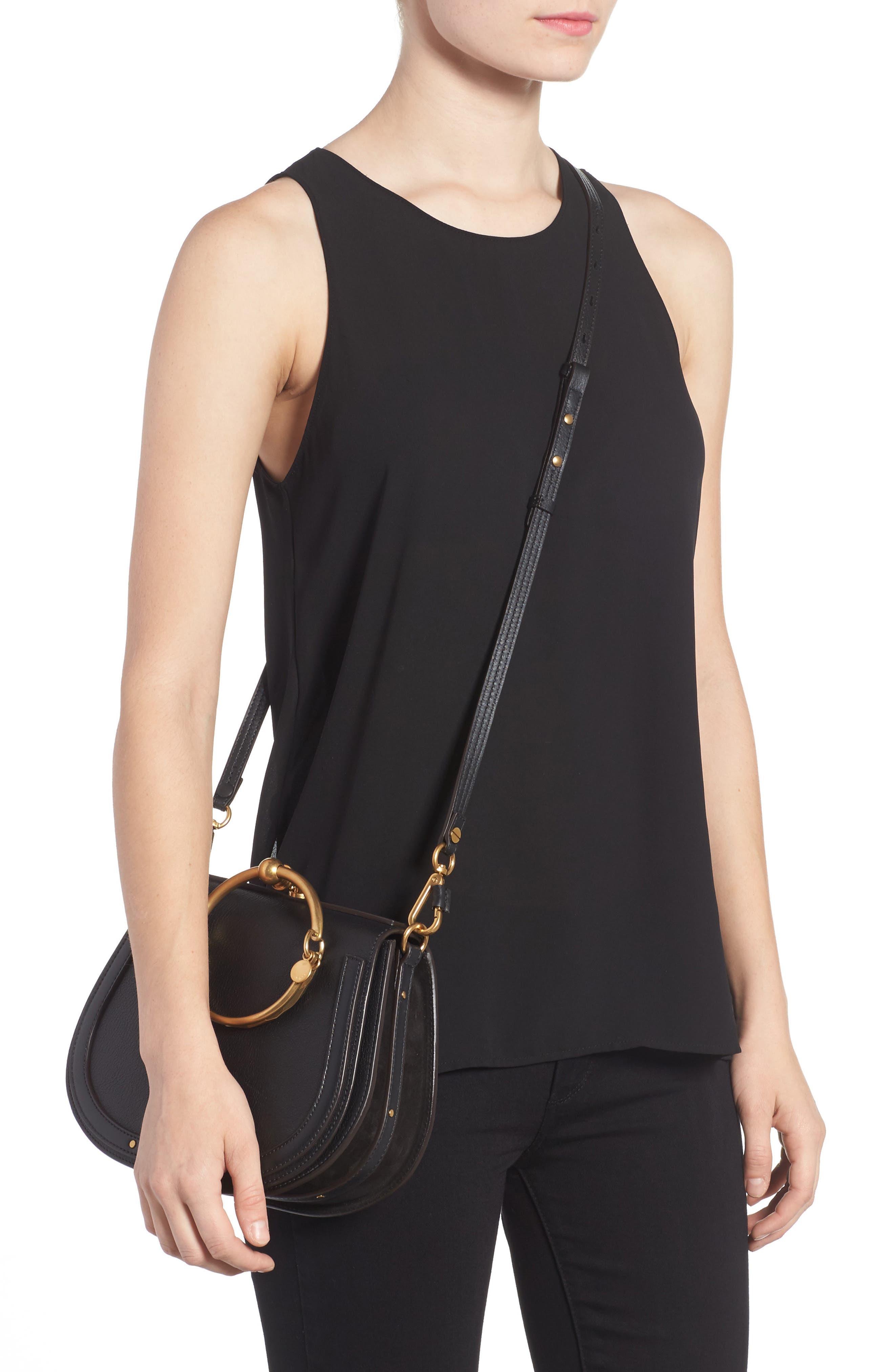 Alternate Image 2  - Chloé Medium Nile Leather Bracelet Saddle Bag