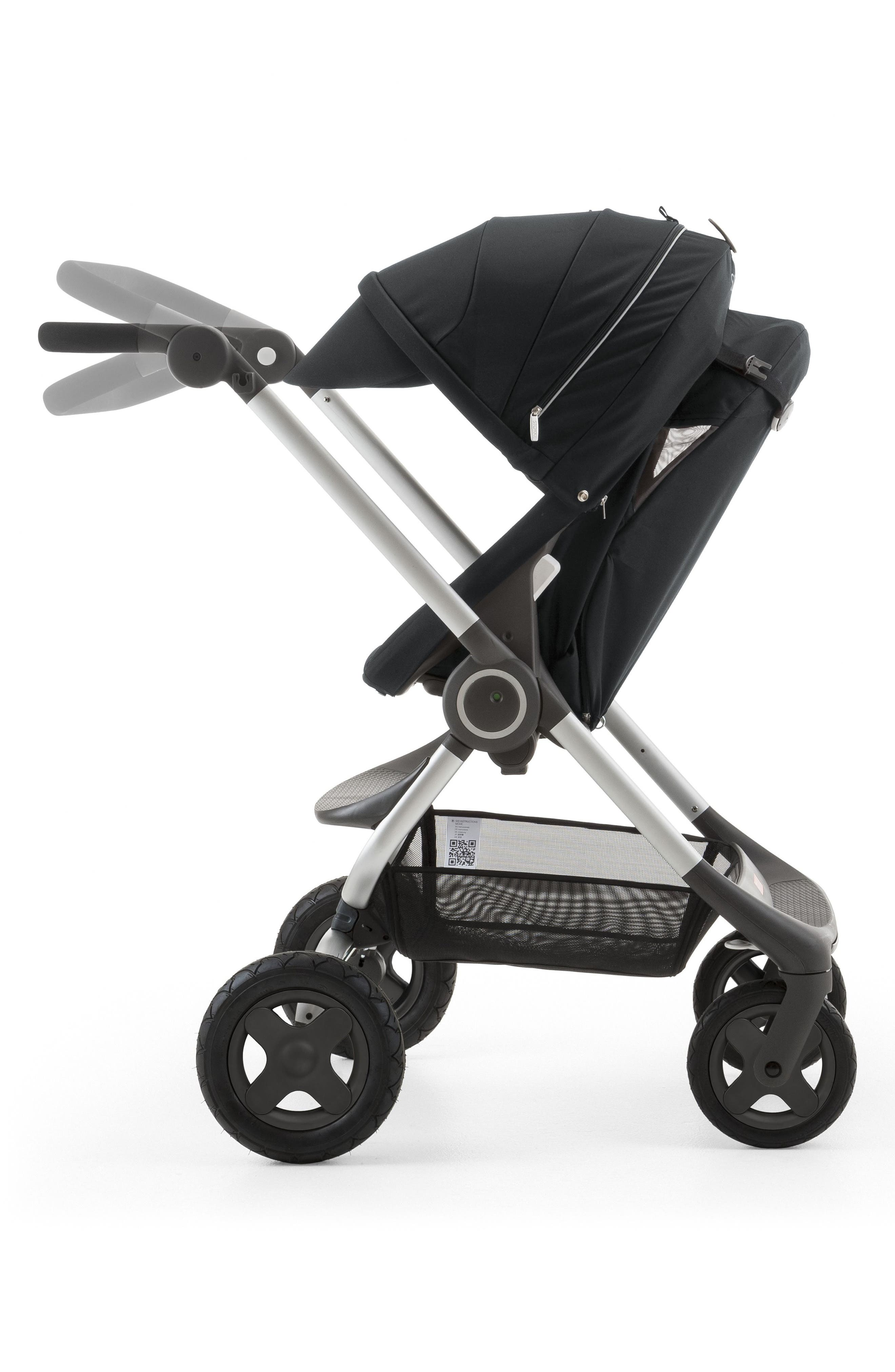Scoot<sup>™</sup> Complete Stroller,                             Alternate thumbnail 7, color,                             Black