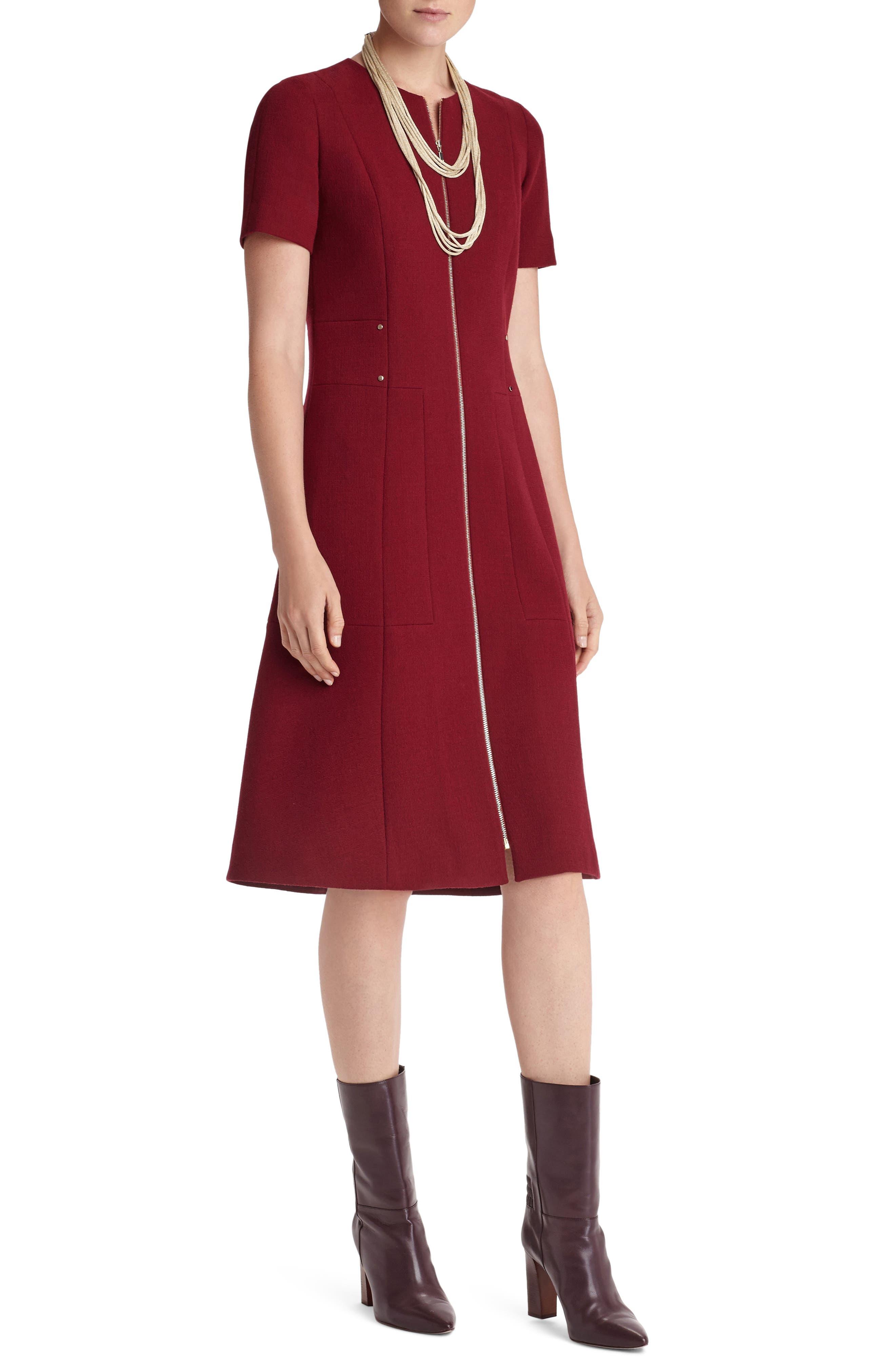 Alternate Image 3  - Lafayette 148 New York Sonya Nouveau Crepe Dress