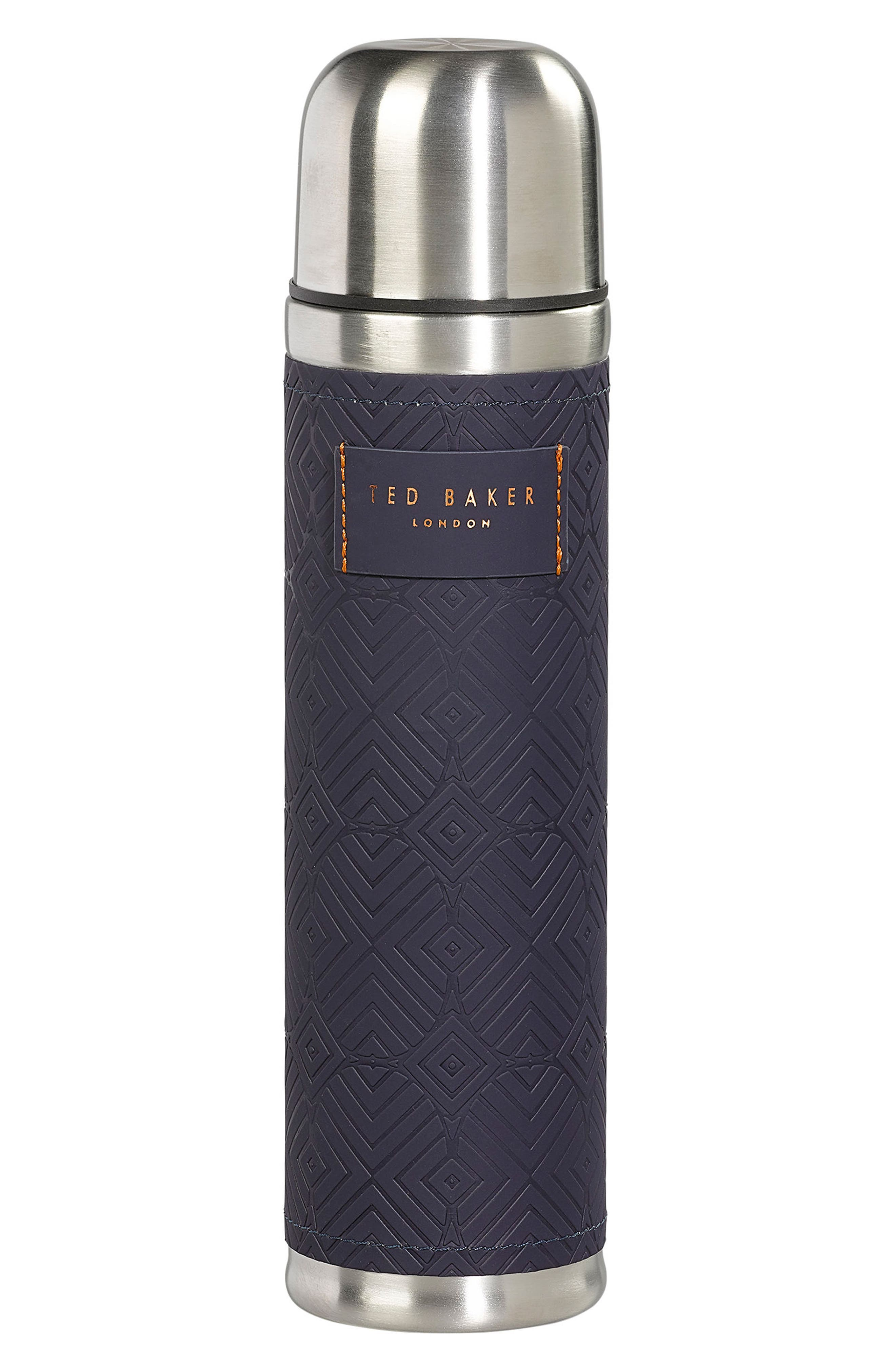 Stainless Steel Thermos,                         Main,                         color, Blue Cadet