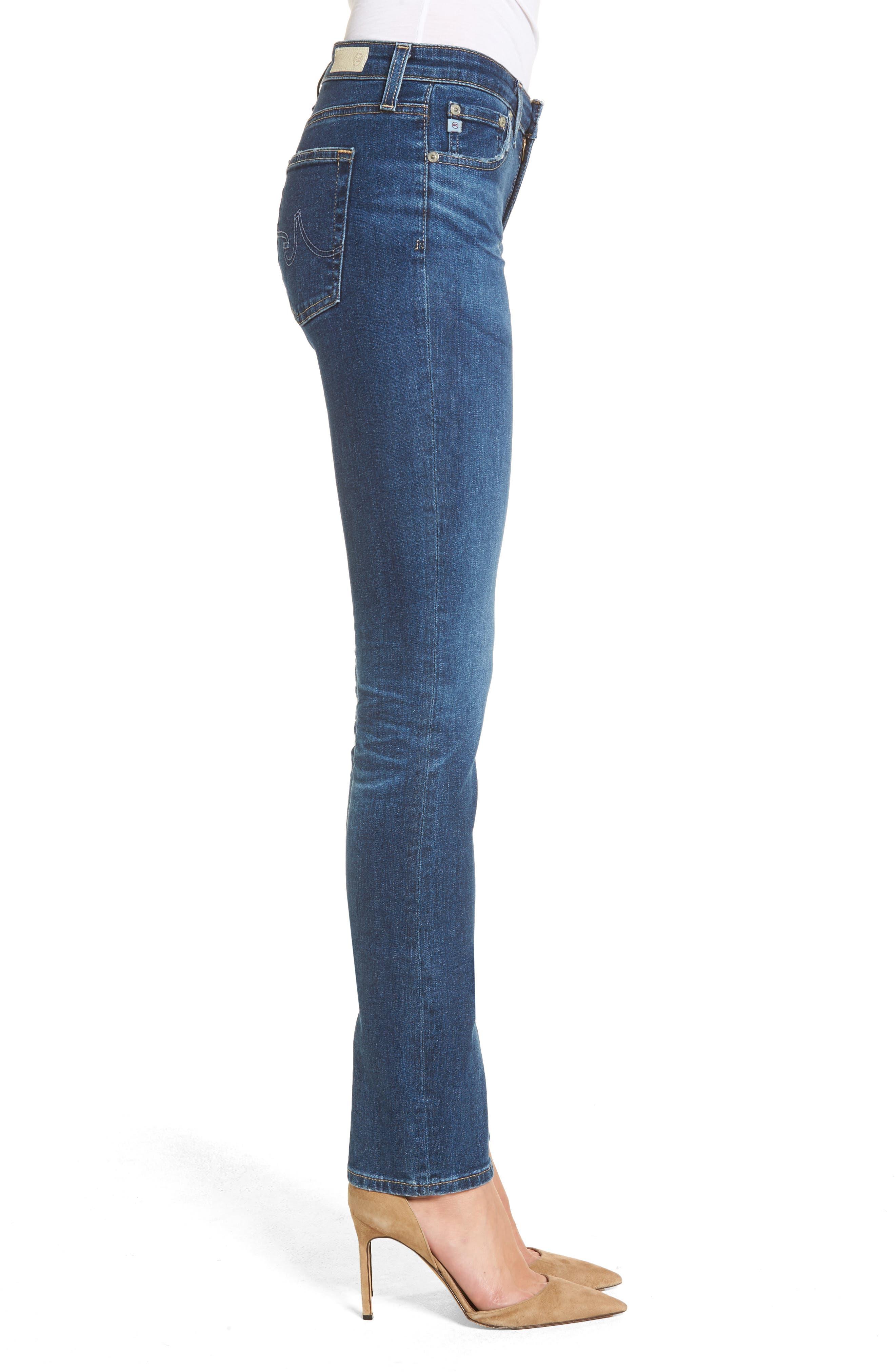 Harper Slim Straight Leg Jeans,                             Alternate thumbnail 3, color,                             8 Years Blue Portrait