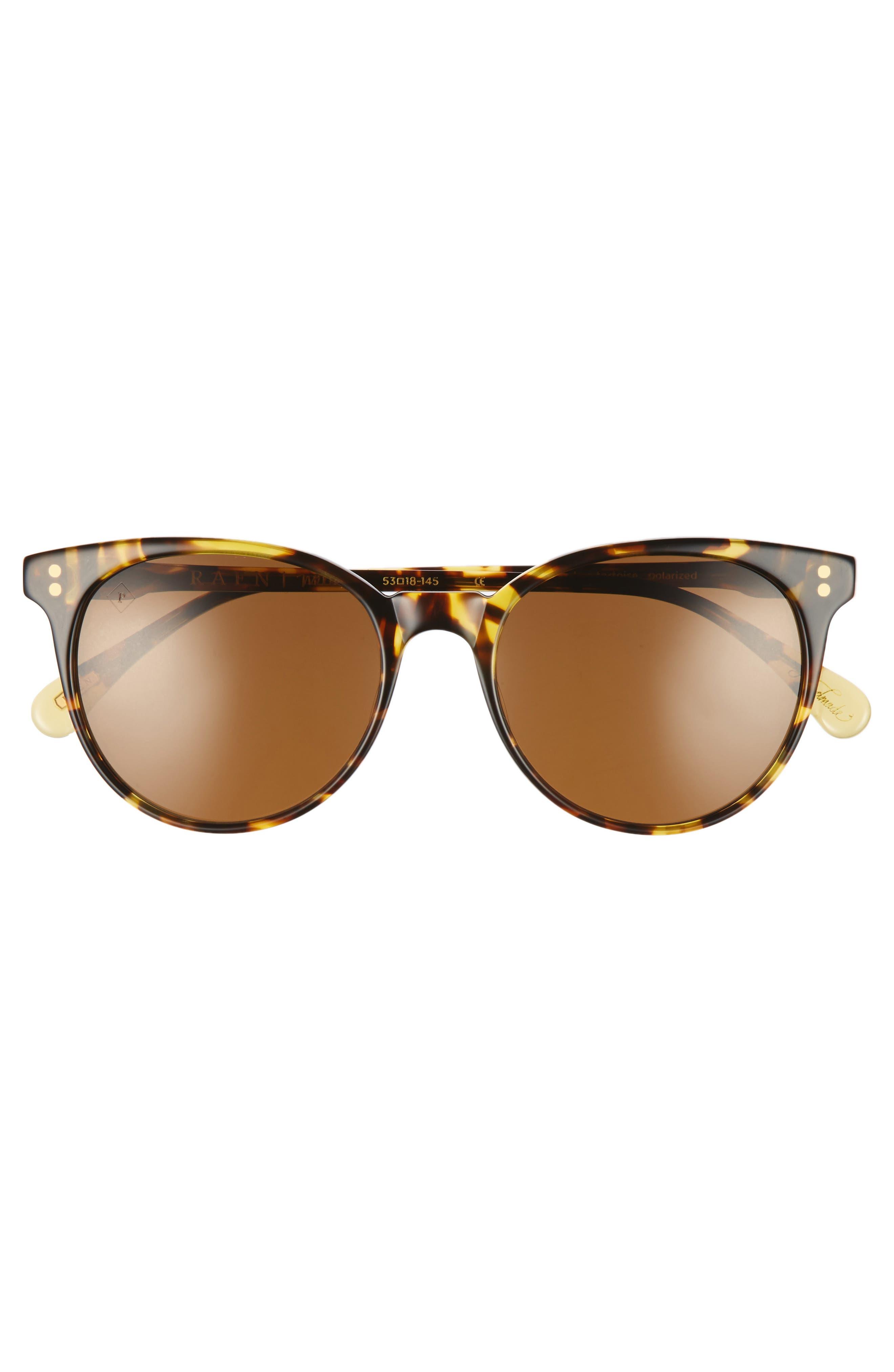 Norie 53mm Sunglasses,                             Alternate thumbnail 2, color,                             Tokyo Tortoise/ Brown