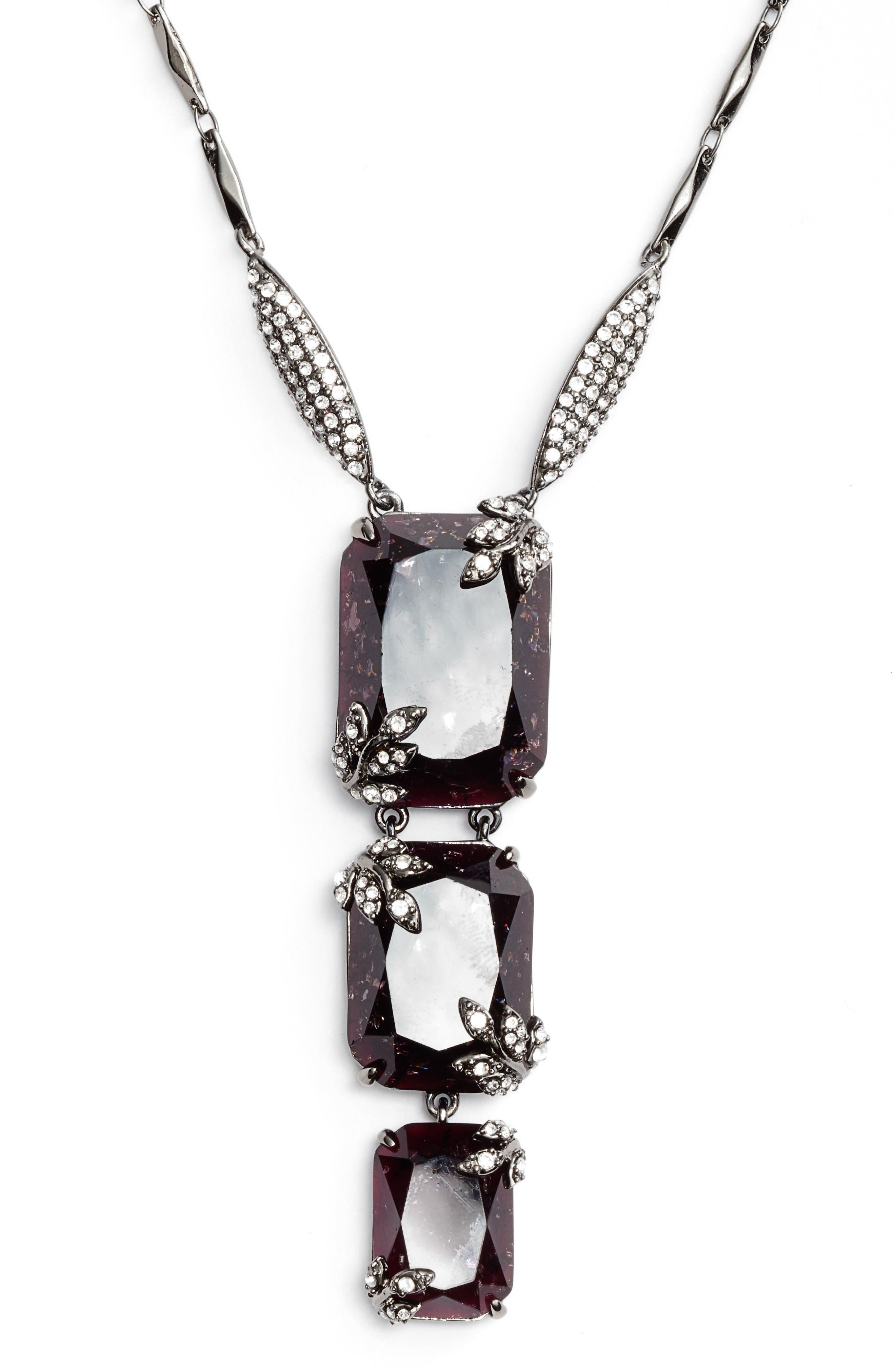 Alternate Image 2  - Jenny Packham Long Pendant Necklace