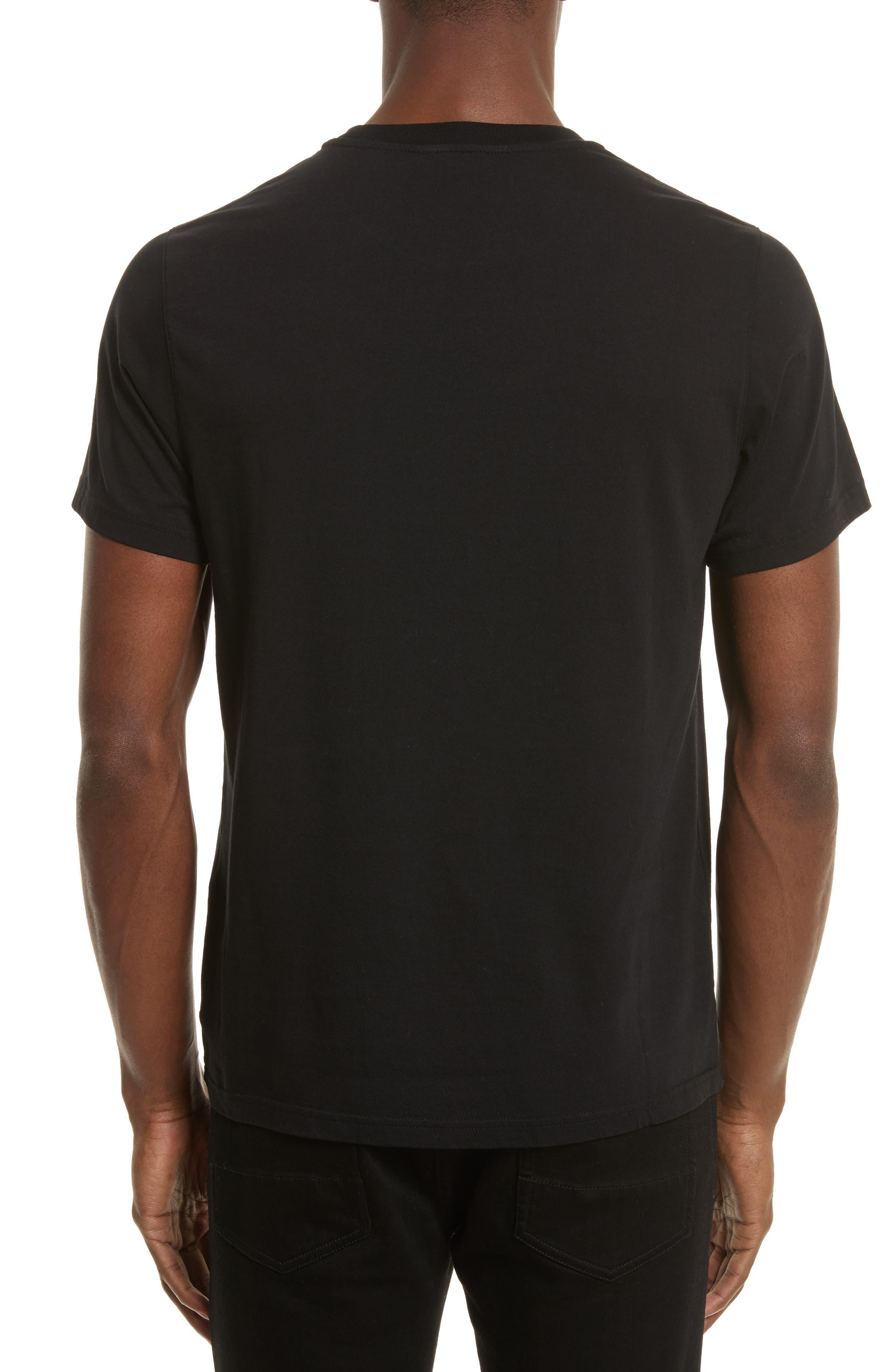 Logo Graphic T-Shirt,                             Alternate thumbnail 2, color,                             Black