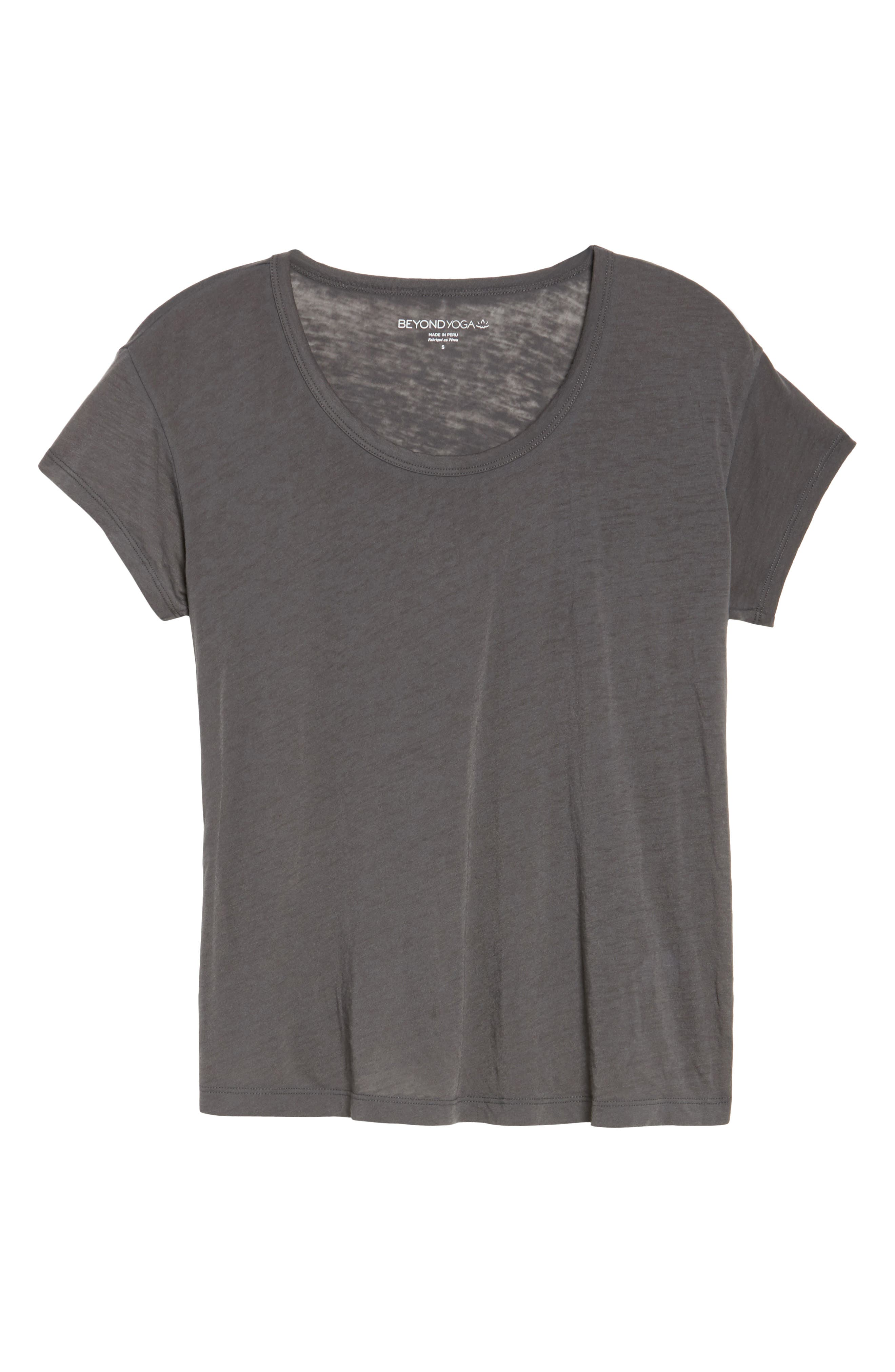 As Your Are Tee,                         Main,                         color, Gray And Stormy