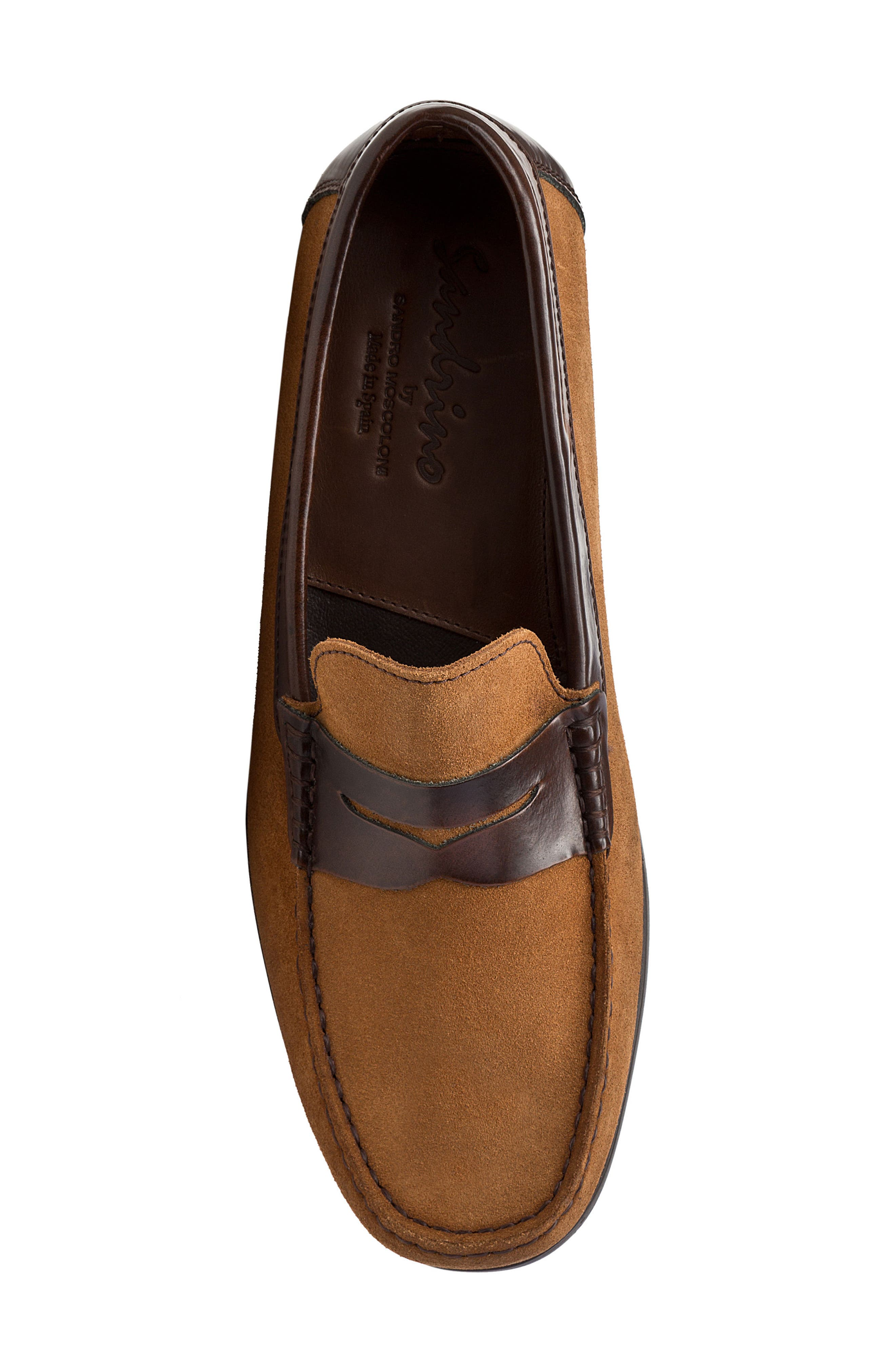 Alternate Image 6  - Sandro Moscoloni Lucho Penny Loafer (Men)