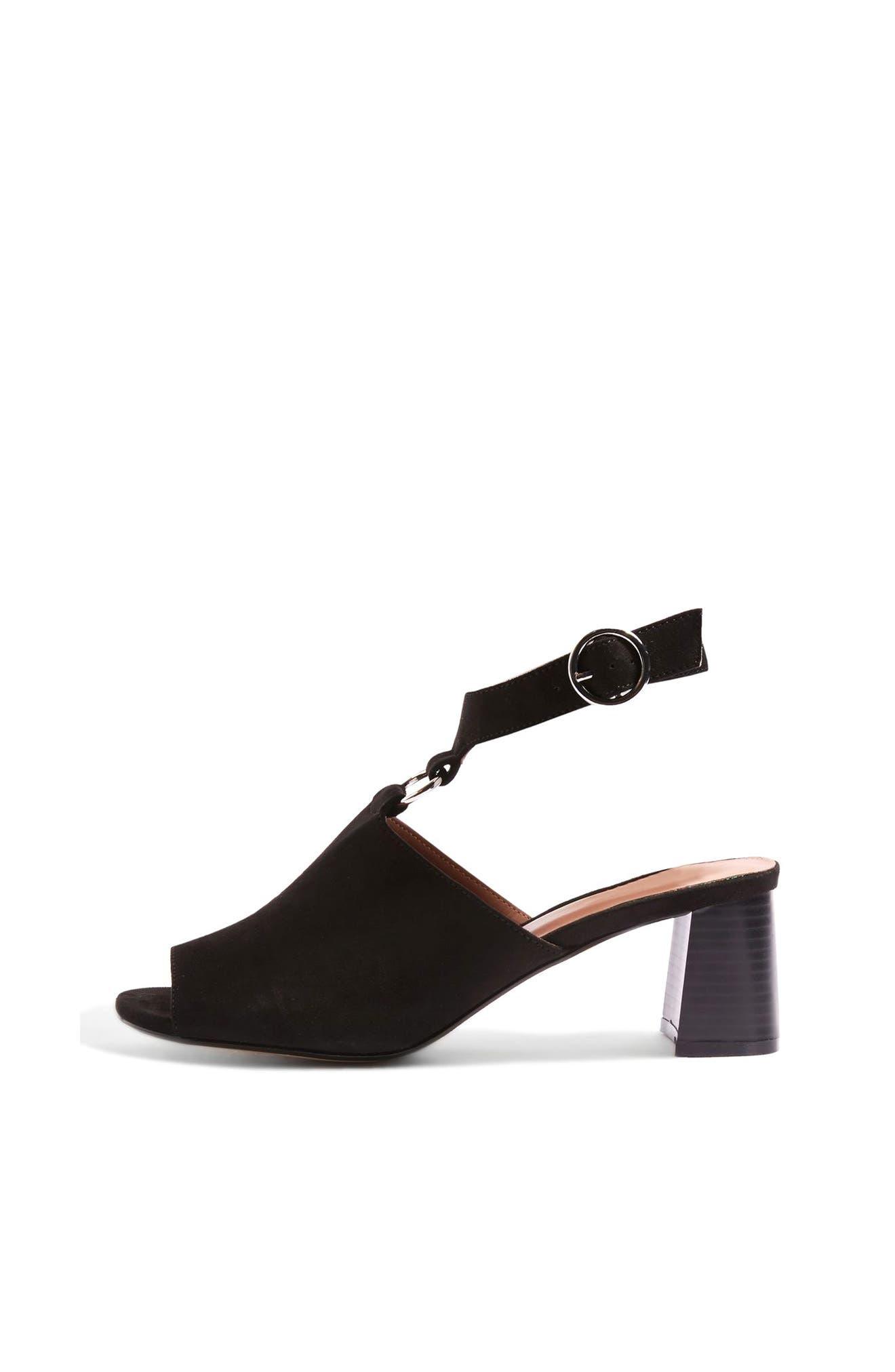 Alternate Image 1 Selected - Topshop Dazzle Ring Front Sandal (Women)