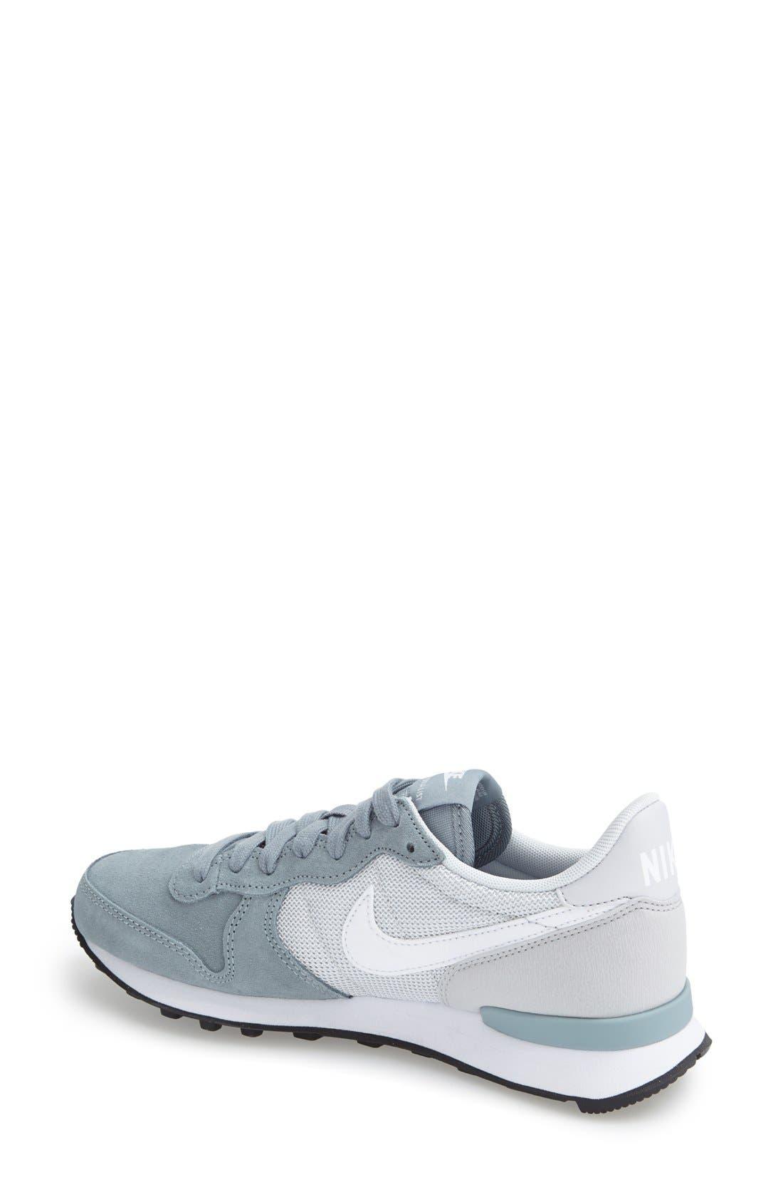 'Internationalist' Sneaker,                             Alternate thumbnail 2, color,                             Grey/ Platinum/ Black