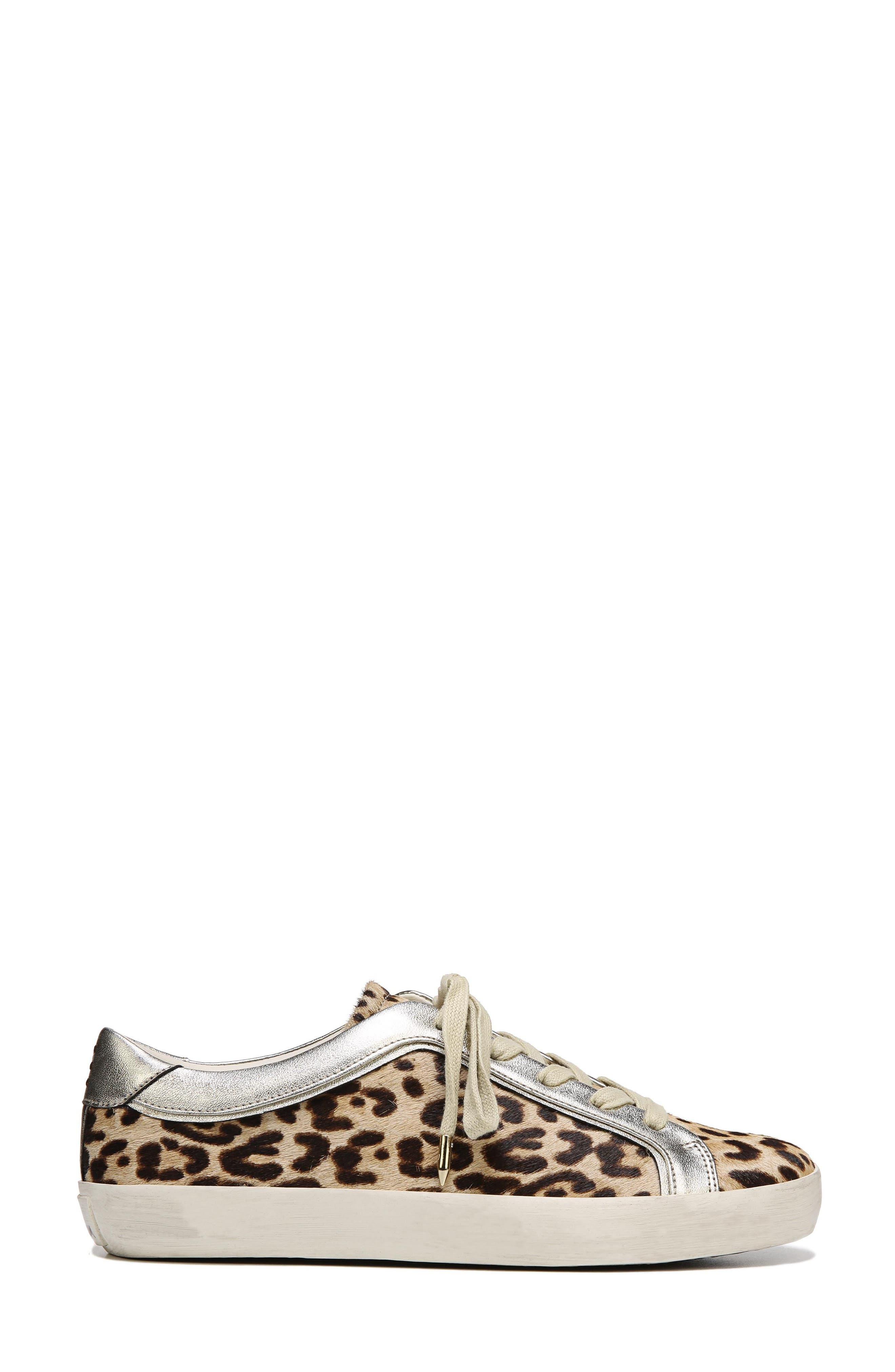 Britton 2 Sneaker,                             Alternate thumbnail 3, color,                             Leopard Brahma Hair