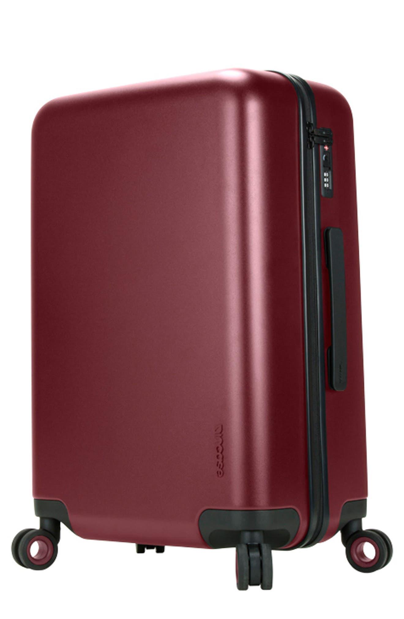 NOVI 31-Inch Hardshell Wheeled Packing Case,                             Alternate thumbnail 6, color,                             Deep Red