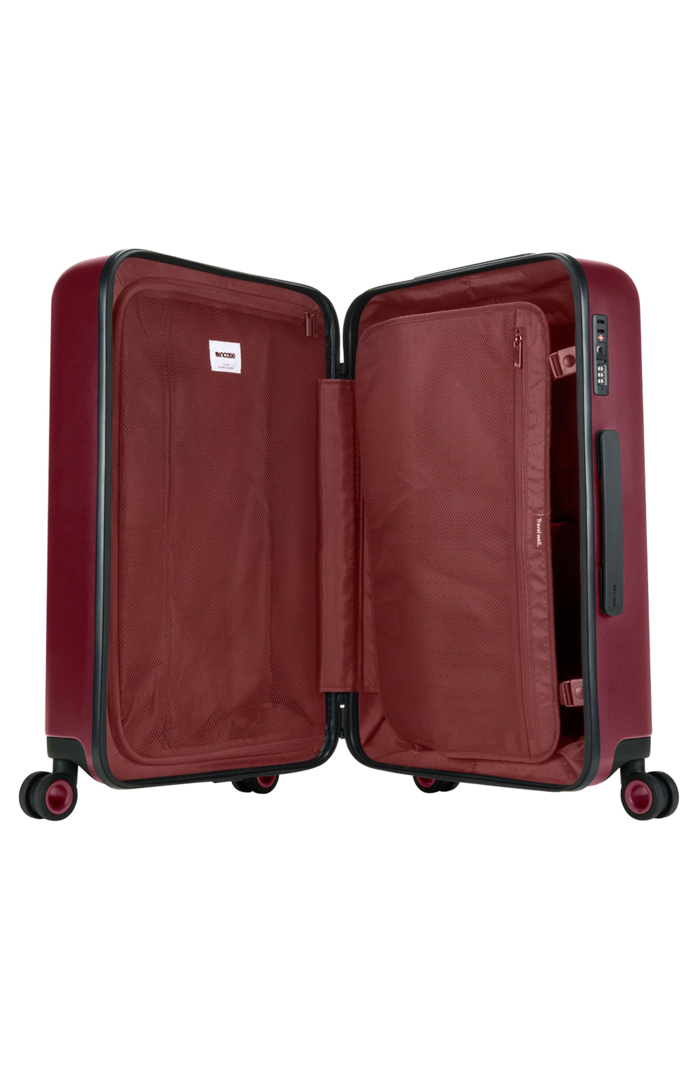 NOVI 31-Inch Hardshell Wheeled Packing Case,                             Alternate thumbnail 2, color,                             Deep Red
