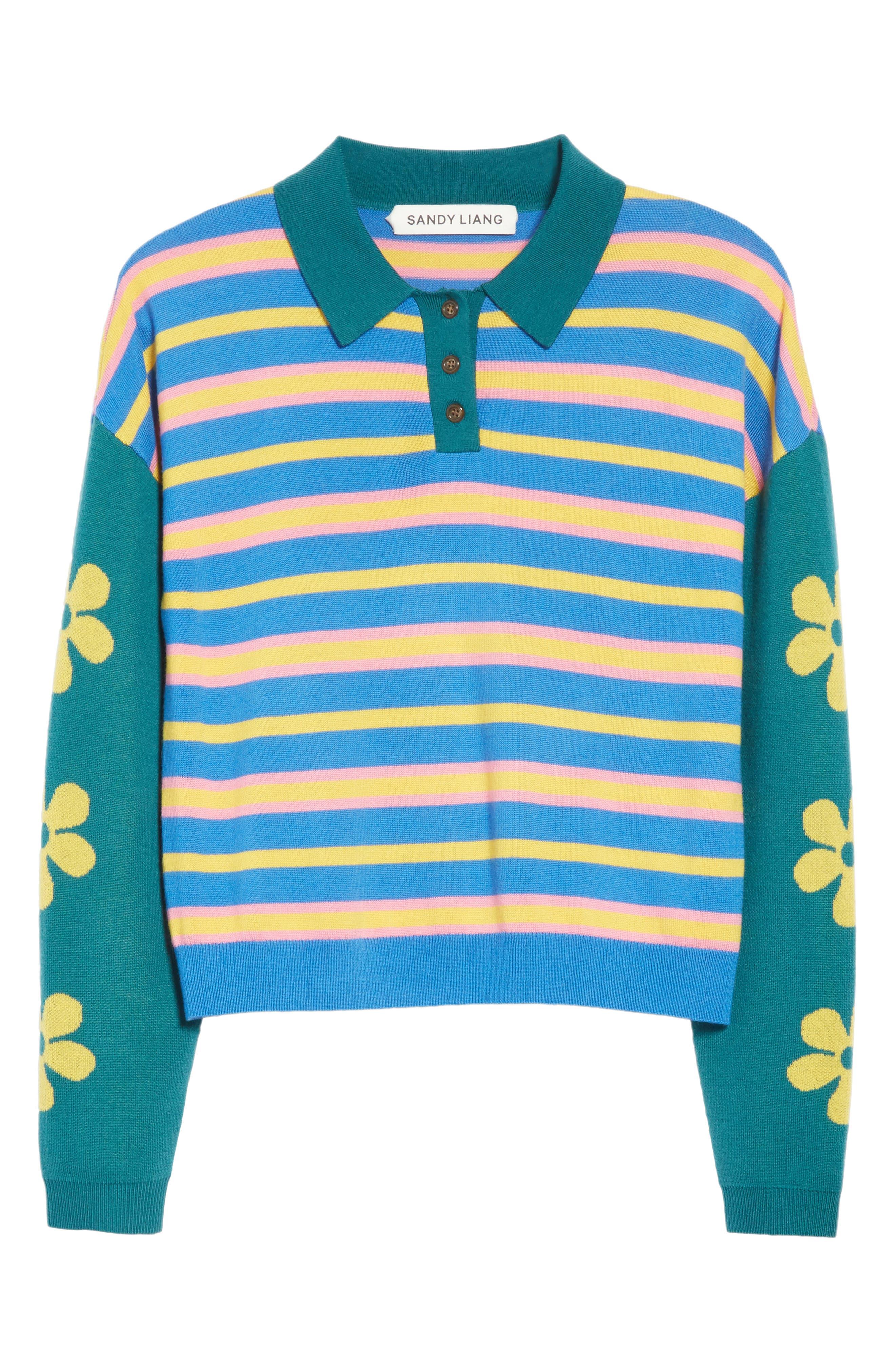 Alternate Image 6  - Sandy Liang SpongeBob Polo Sweater