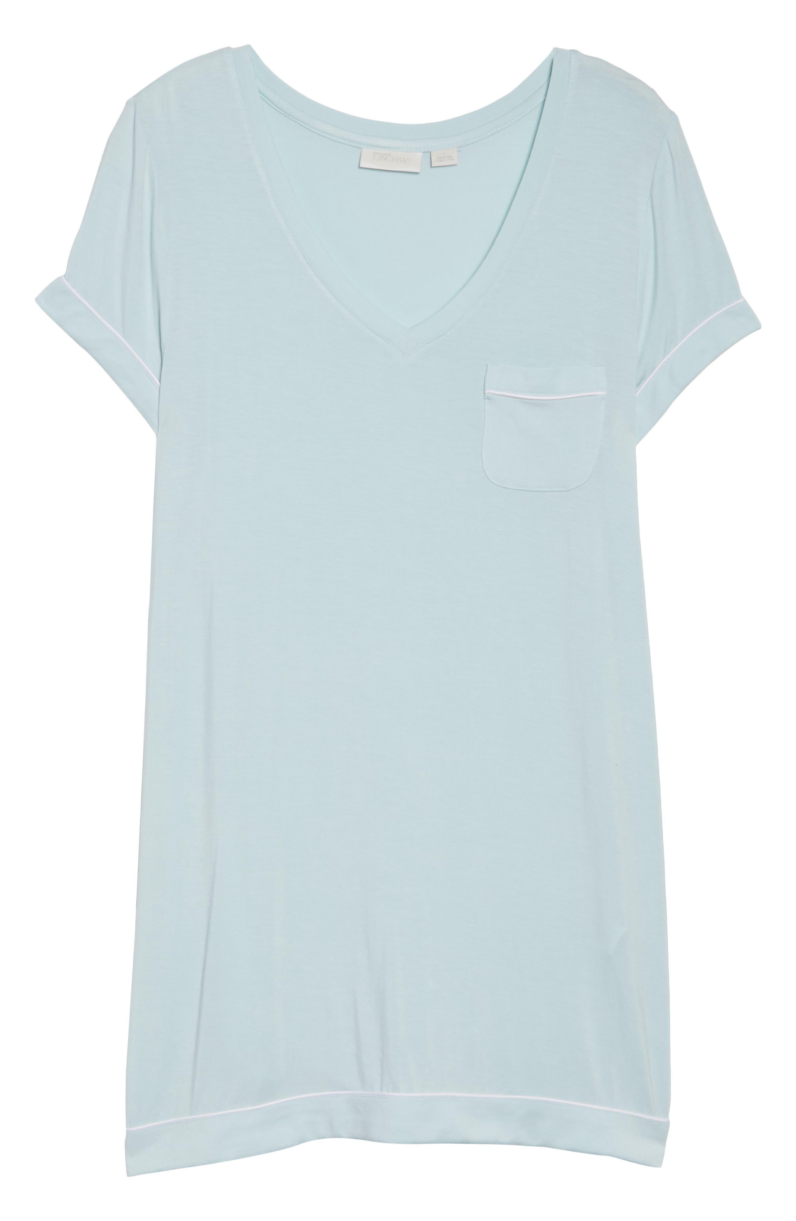 Alternate Image 6  - Nordstrom Lingerie Moonlight Sleep Shirt