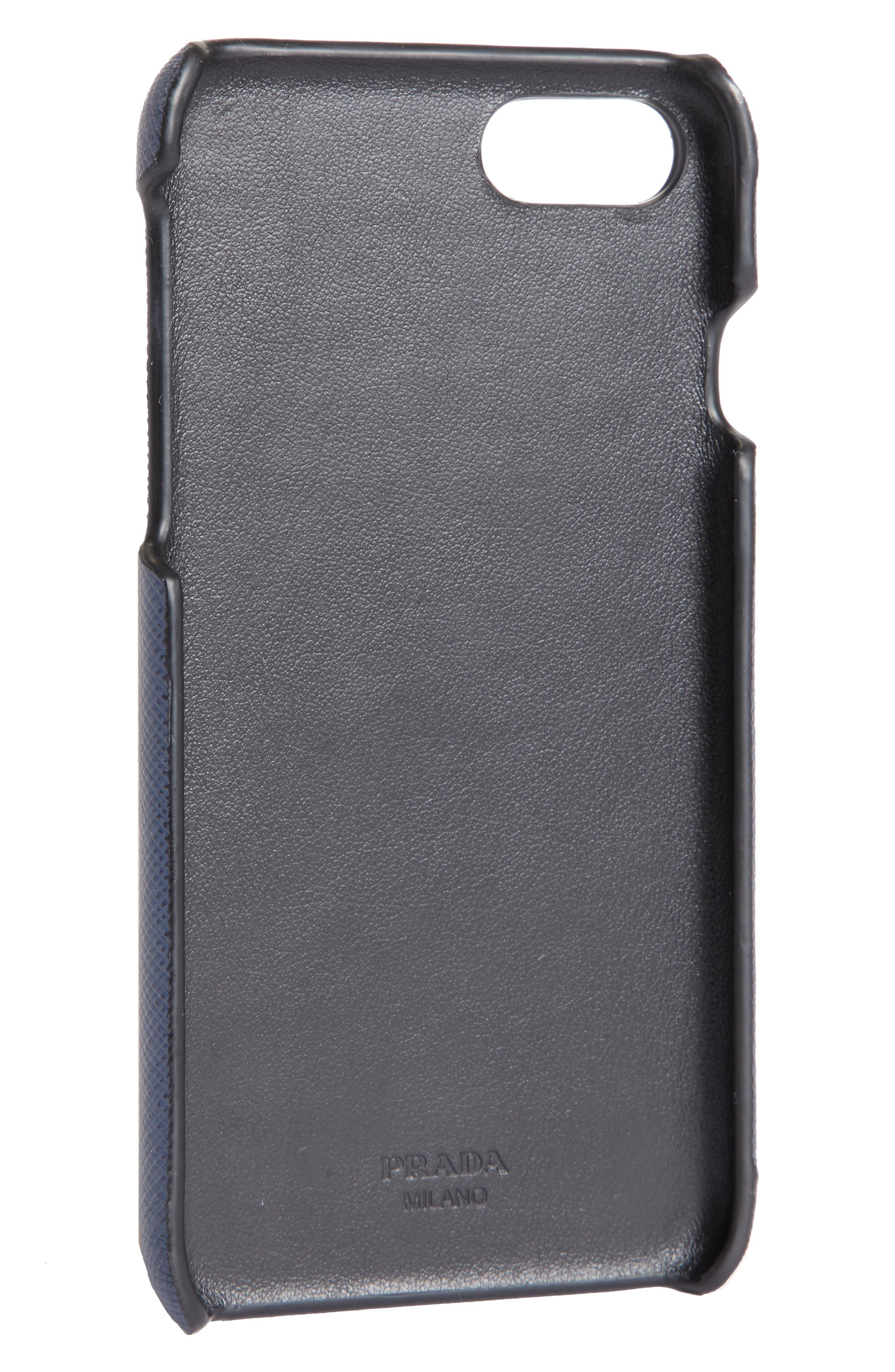 Alternate Image 2  - Prada Saffiano Leather iPhone 6/6s/7/8 Case