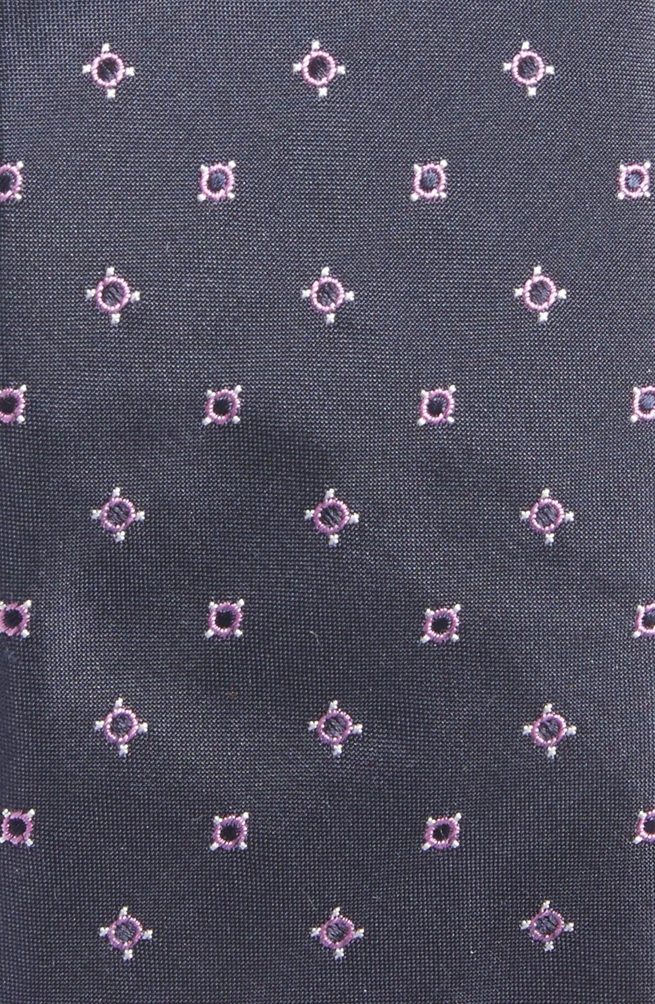 Alternate Image 2  - BOSS Geometric Skinny Silk Tie