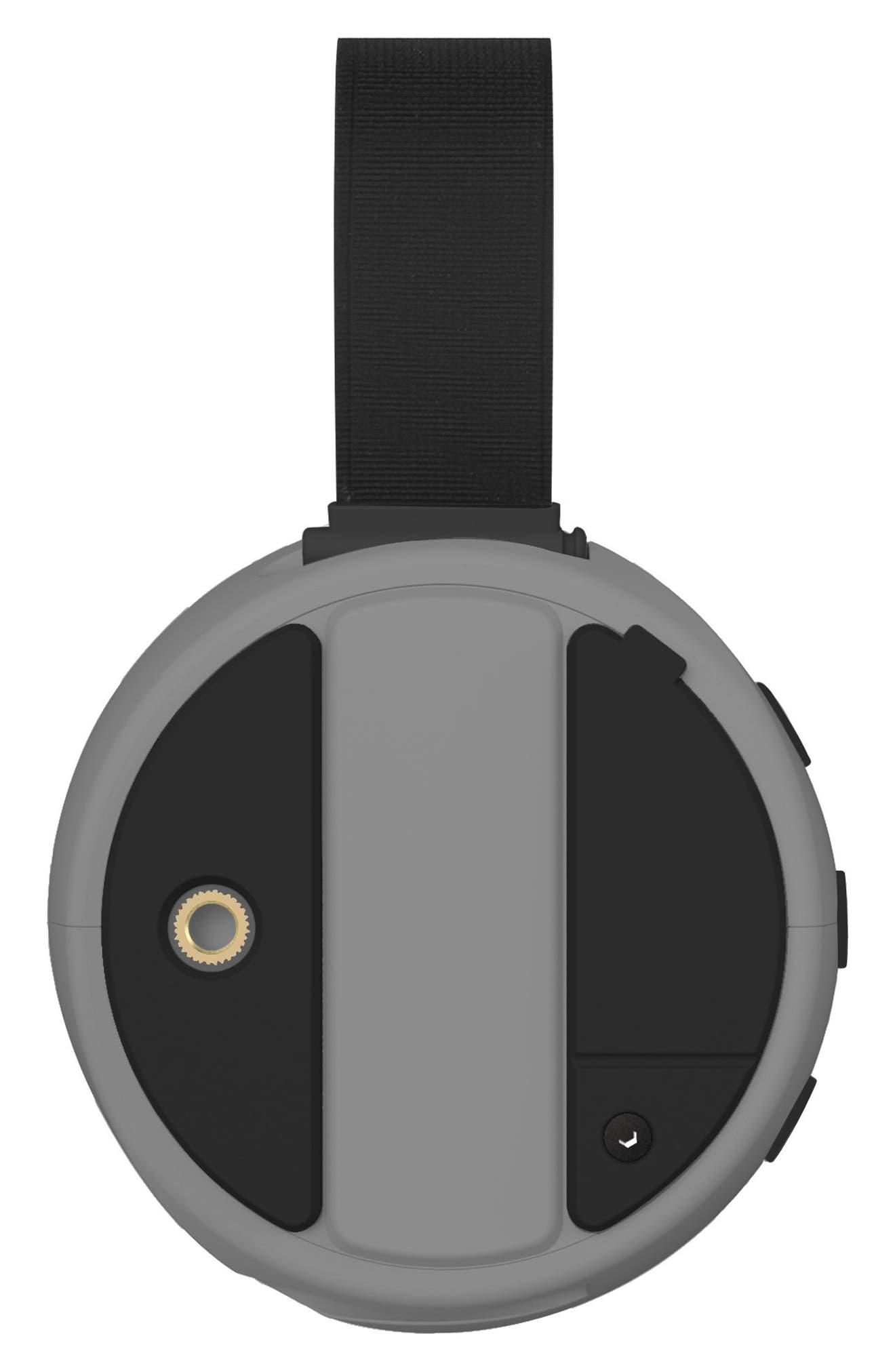 105 Portable Waterproof Bluetooth Speaker,                             Alternate thumbnail 2, color,                             Silver/ Green
